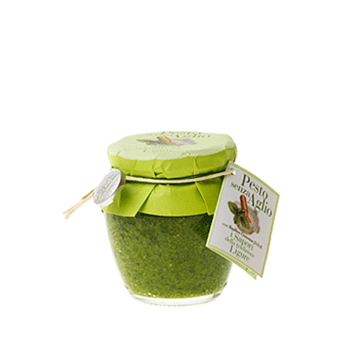 Basil Pesto without Garlic