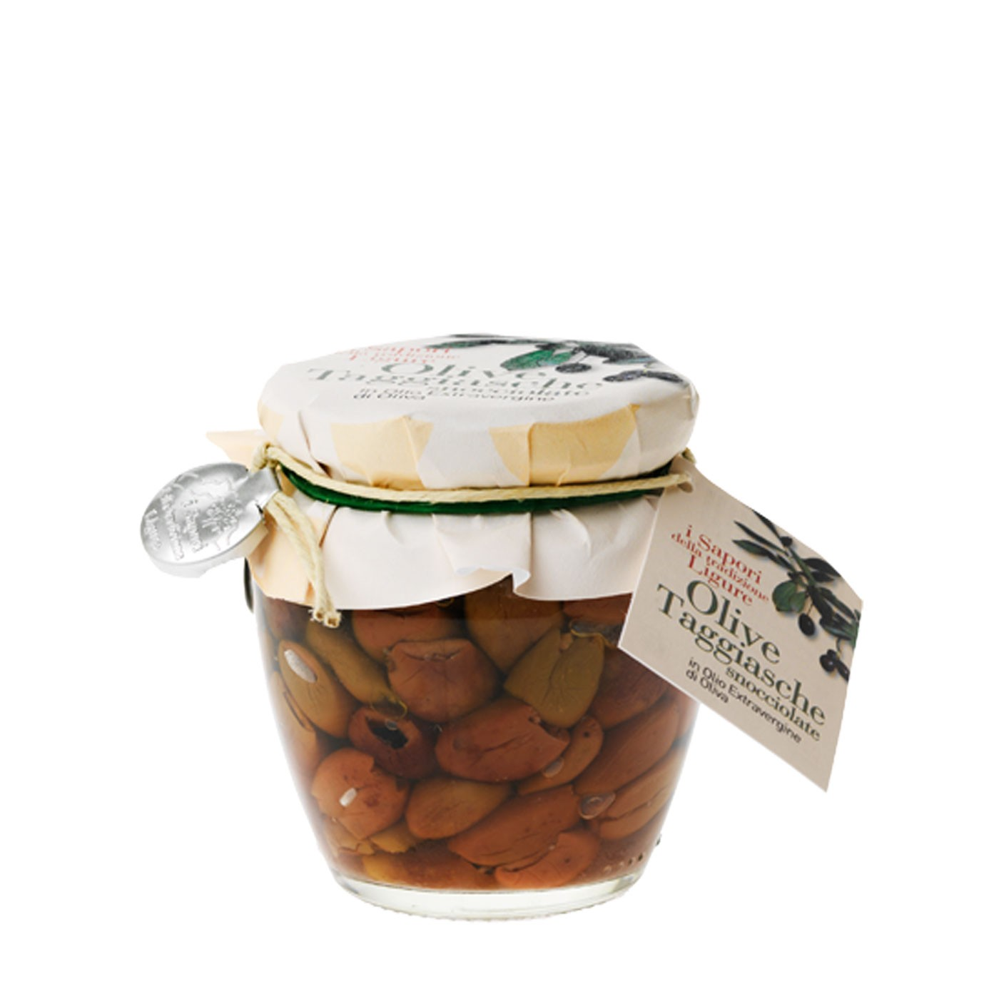 Pitted Taggiasca Olives 6.35 oz