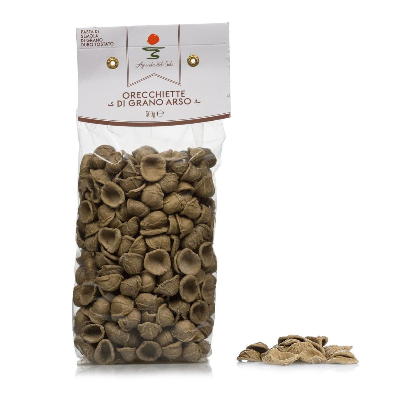 Orecchiette di Grano Arso 17.7 oz - Agricola del Sole | Eataly.com