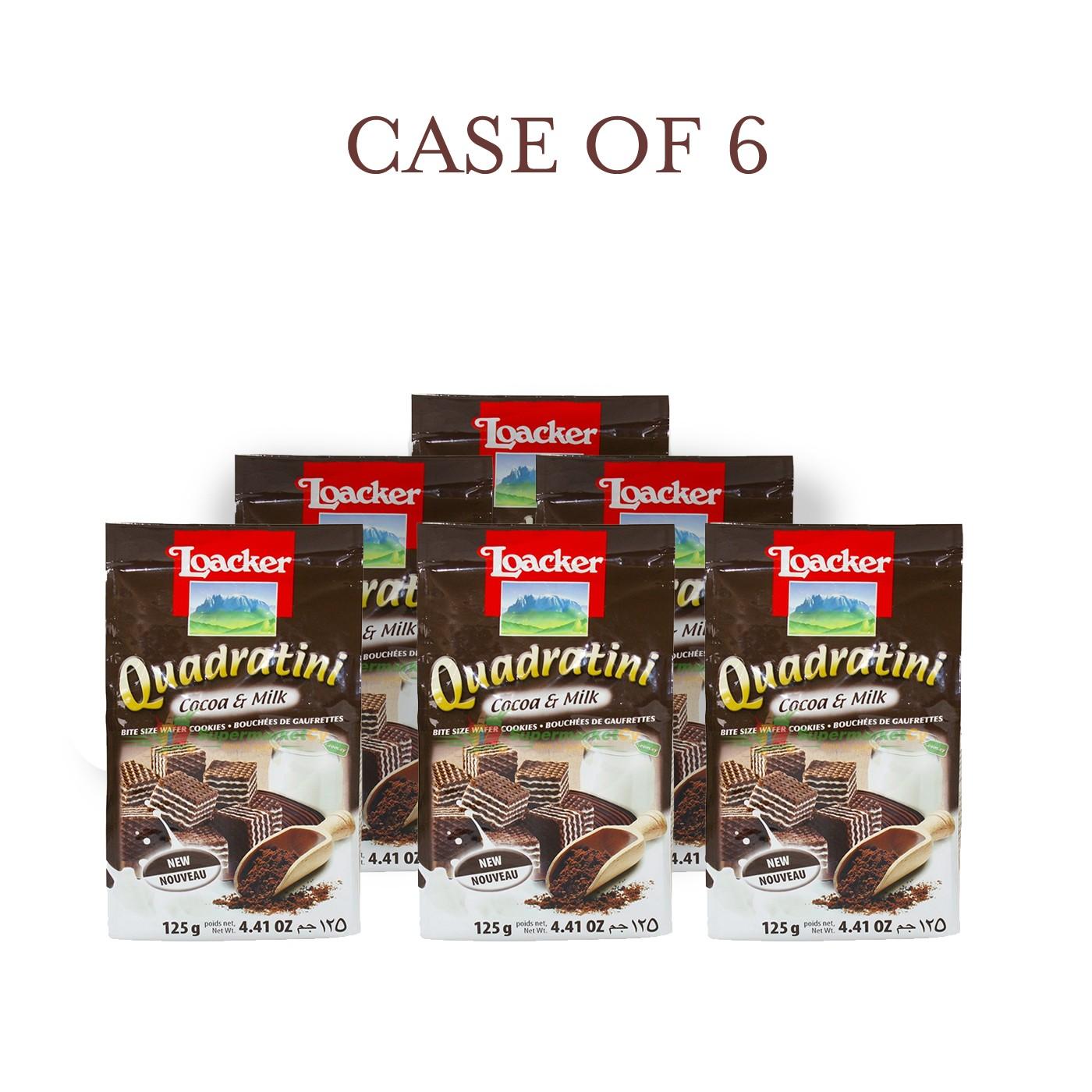 Cocoa-Milk Quadratini - Case of 6