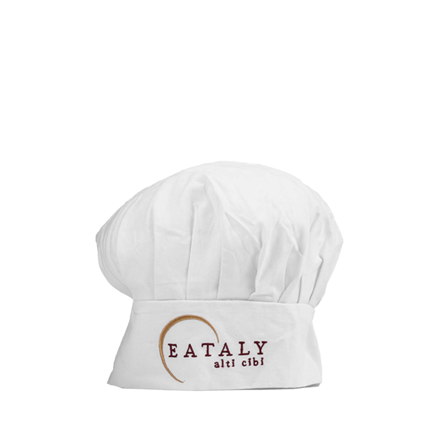 White Eataly Chef Hat