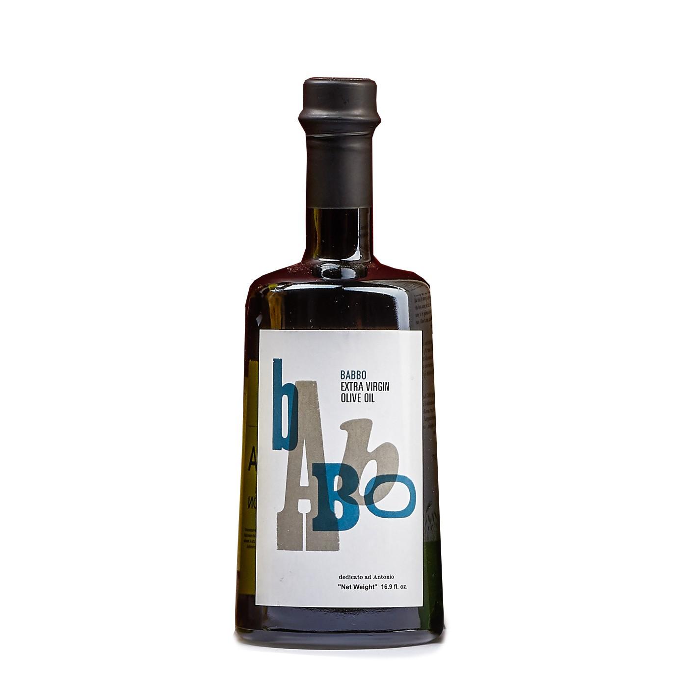 Babbo Extra Virgin Olive Oil 16.9 oz