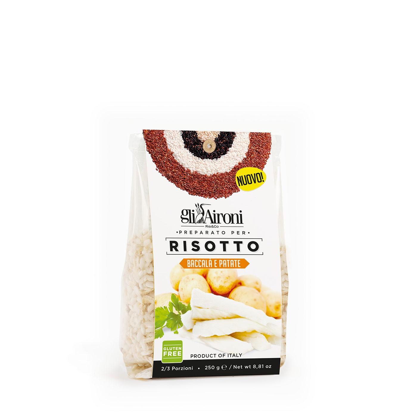 Salt Cod and Potato Risotto
