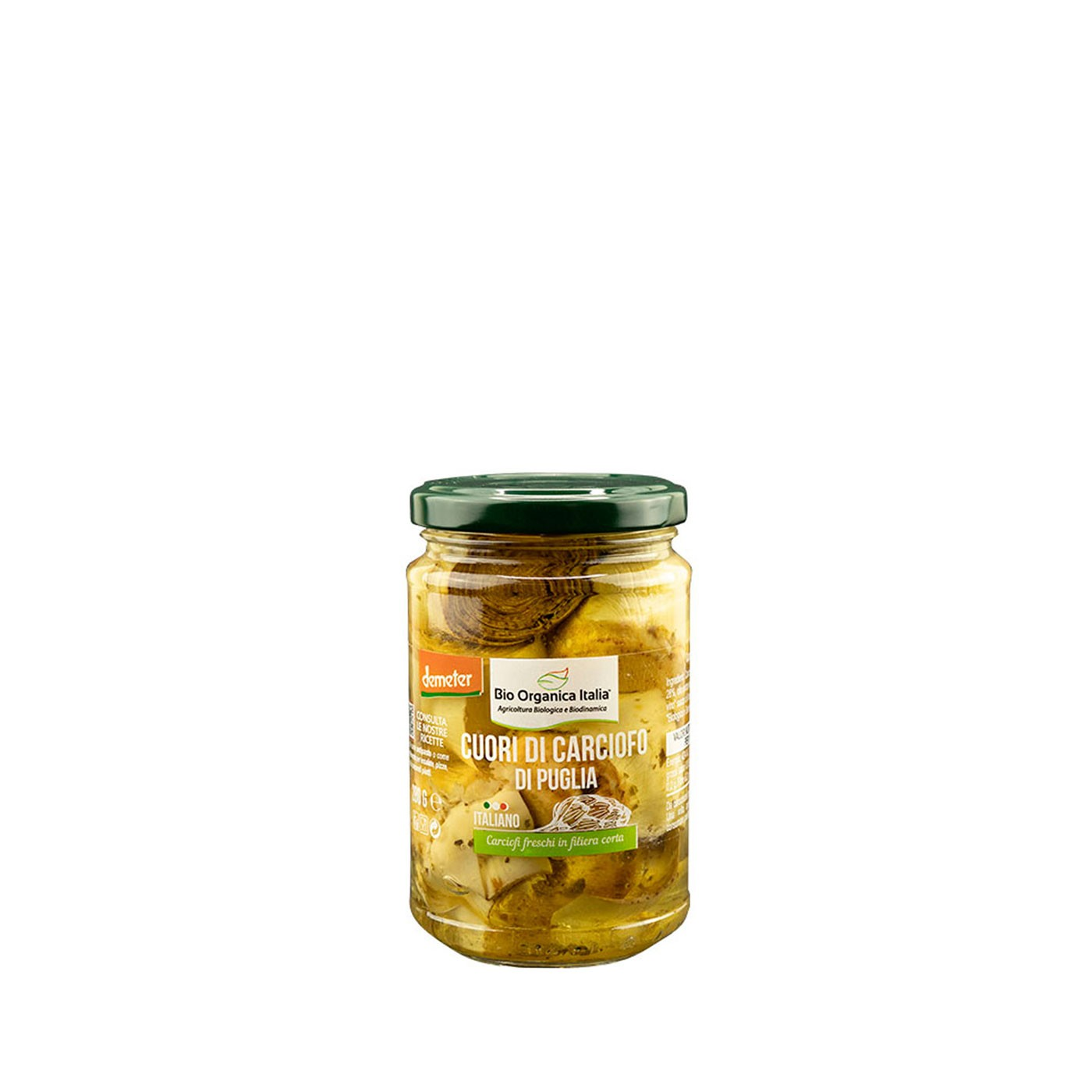 Organic Artichoke Hearts in Olive Oil 9.8 oz