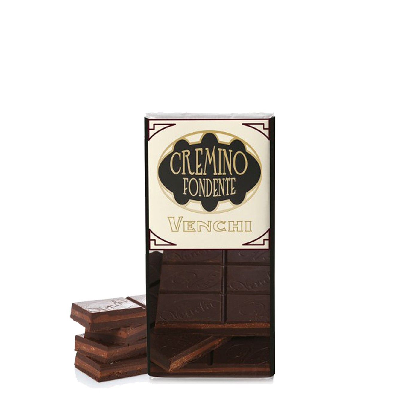 Extra-Dark Chocolate Cremino Bar 3.88oz