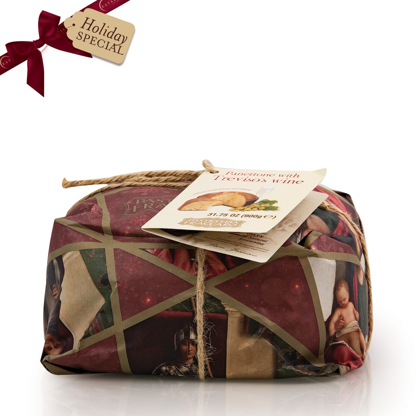 Panettone with Sparkling Wine 31oz