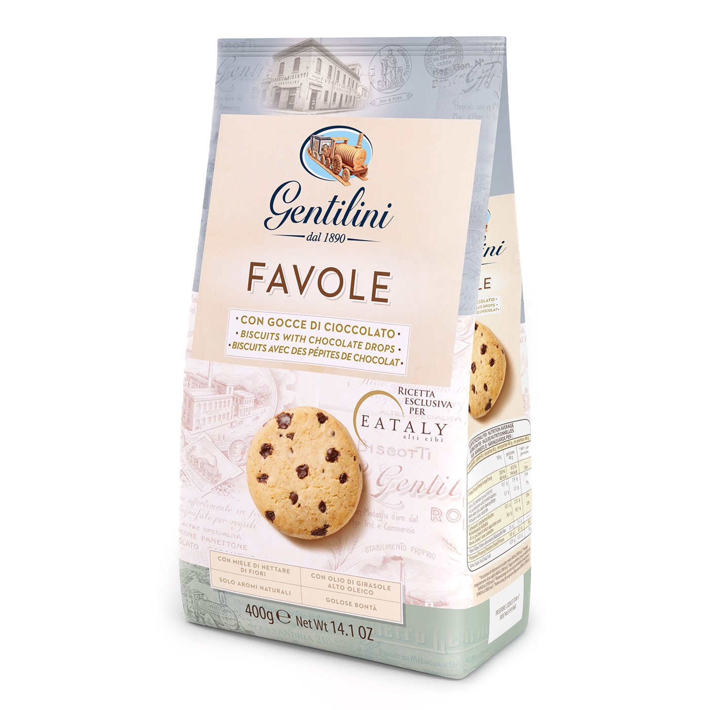 Favole Cookies with Chocolate Chips 14 oz