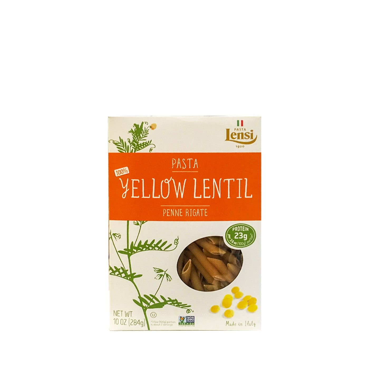 Yellow-Lentil Penne Rigate 10 oz