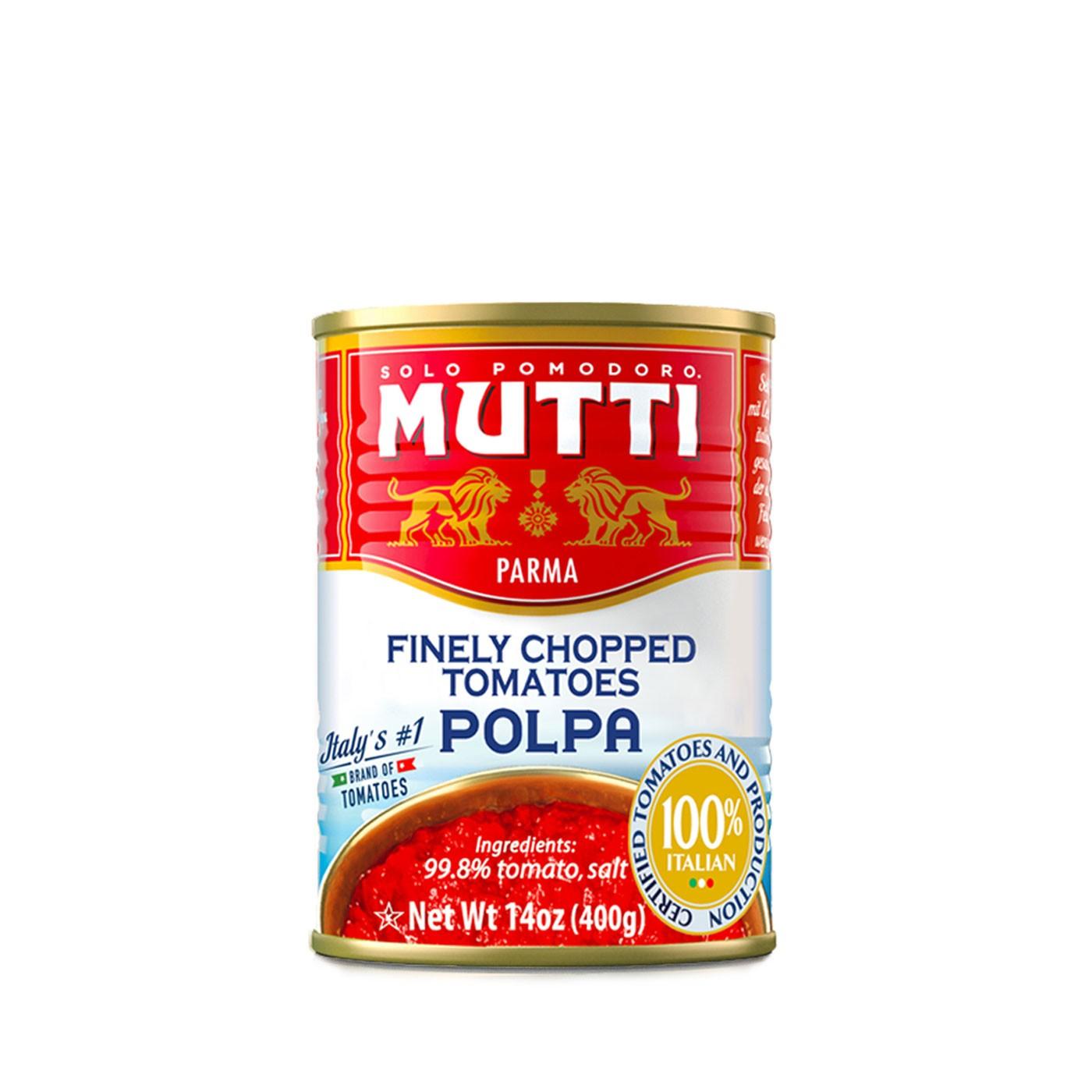 Chopped Tomatoes 24 oz - Mutti | Eataly.com