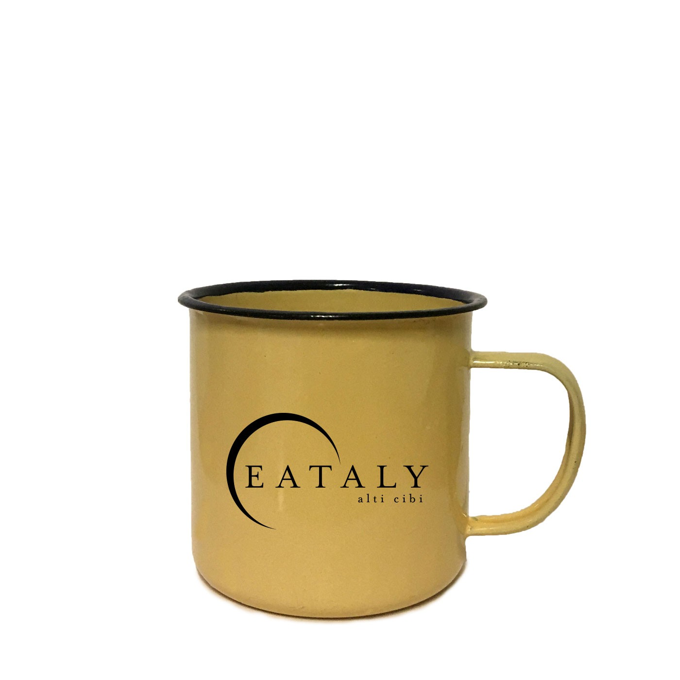 Cream Eataly Mug