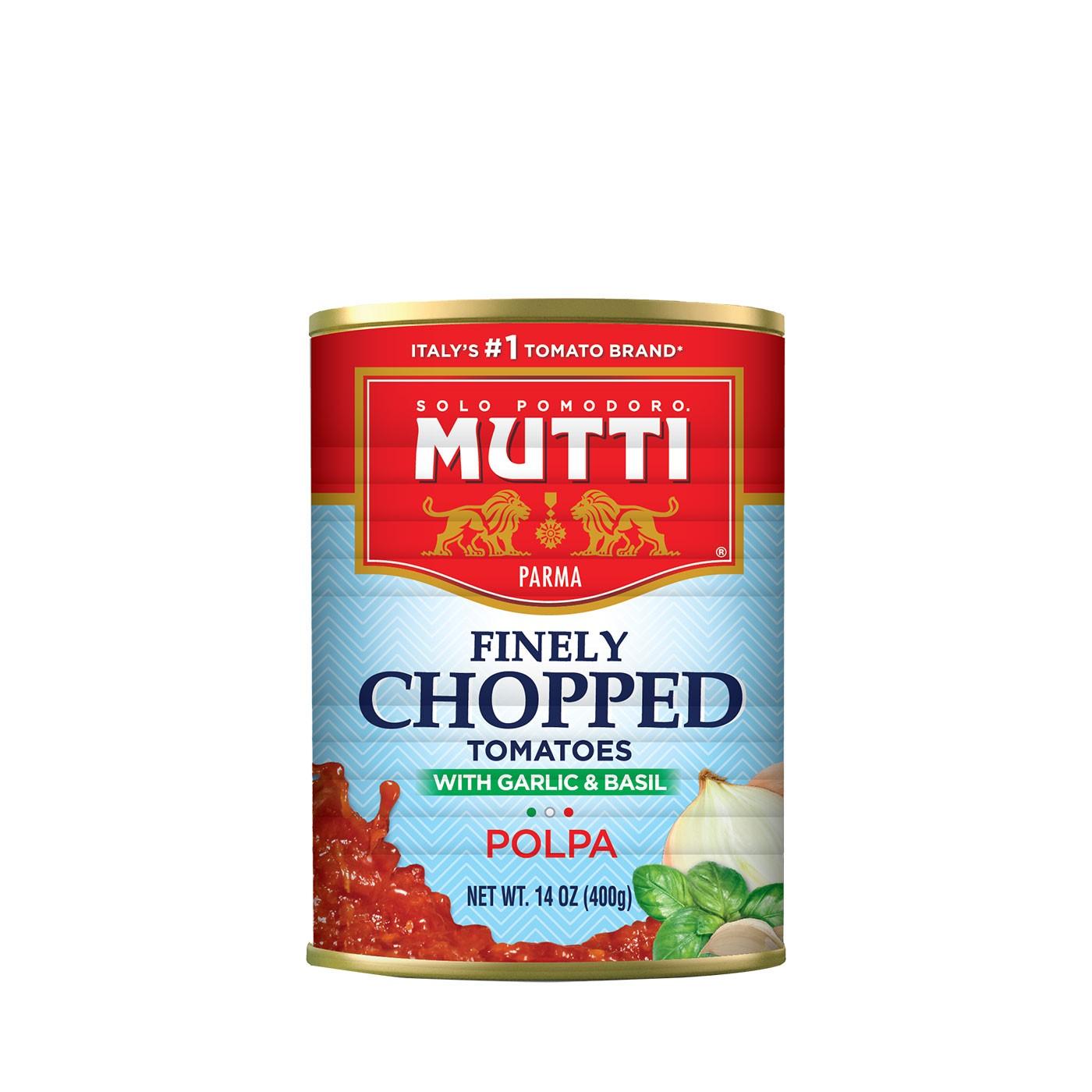 Polpa with Onion, Garlic & Basil 14 oz - Mutti | Eataly.com