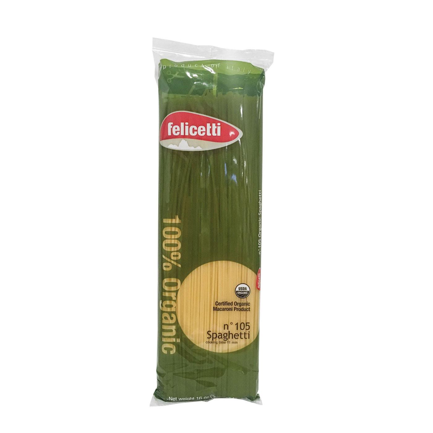 Spaghettini Organic 16 oz
