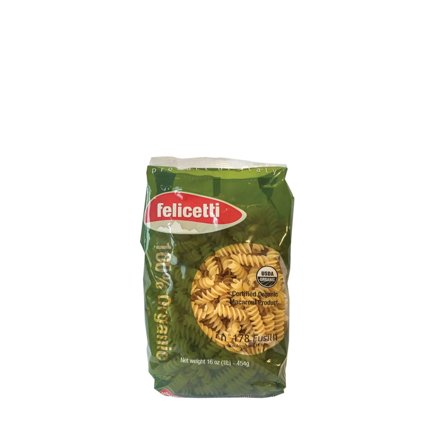 Fusilli Organic 16 oz