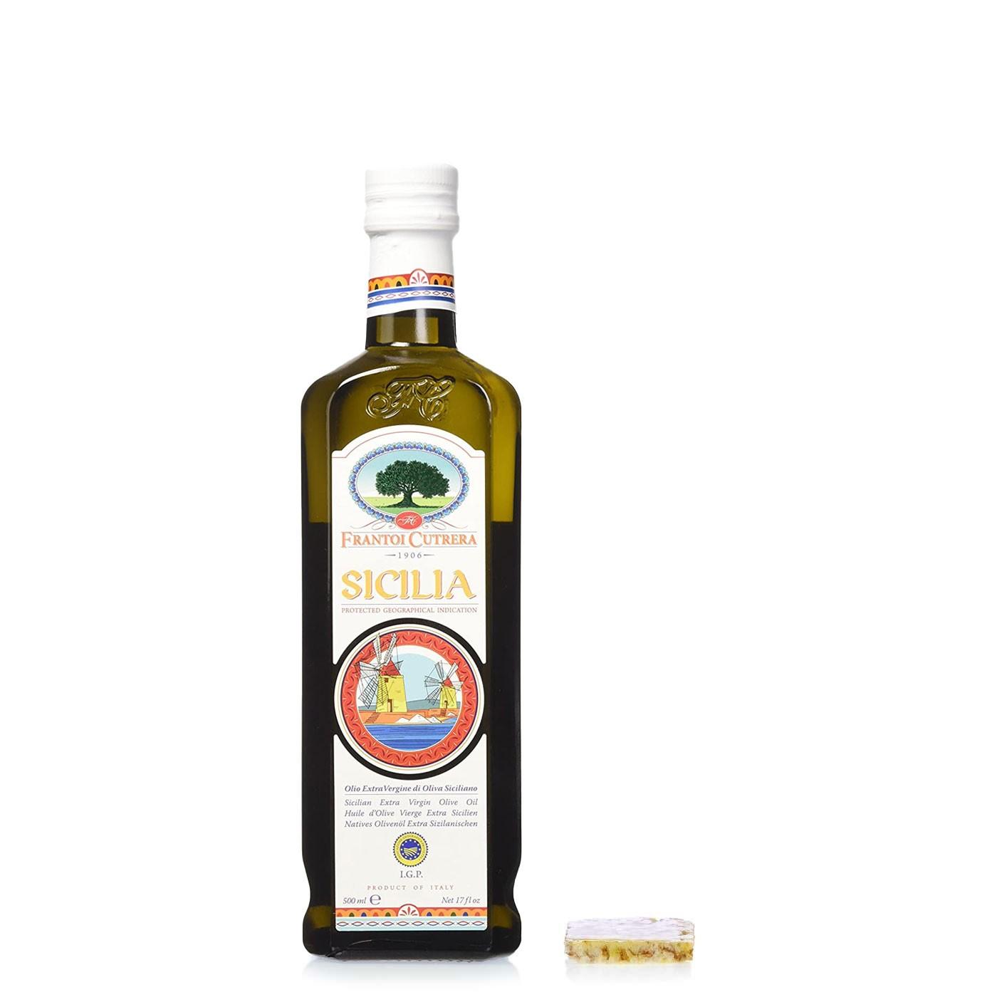 IGP Sicilia Extra Virgin Olive Oil 16.9 oz - Frantoi Cutrera | Eataly.com