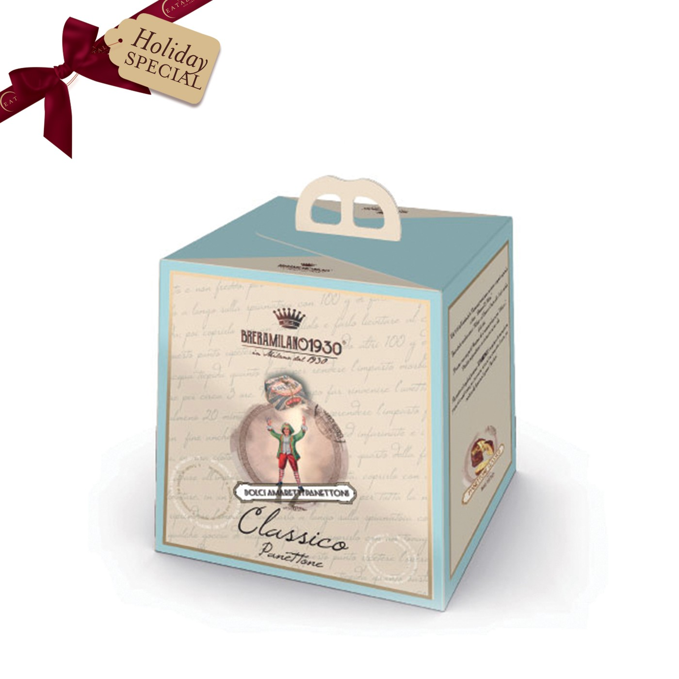 Panettone in a Blue Box 17 oz