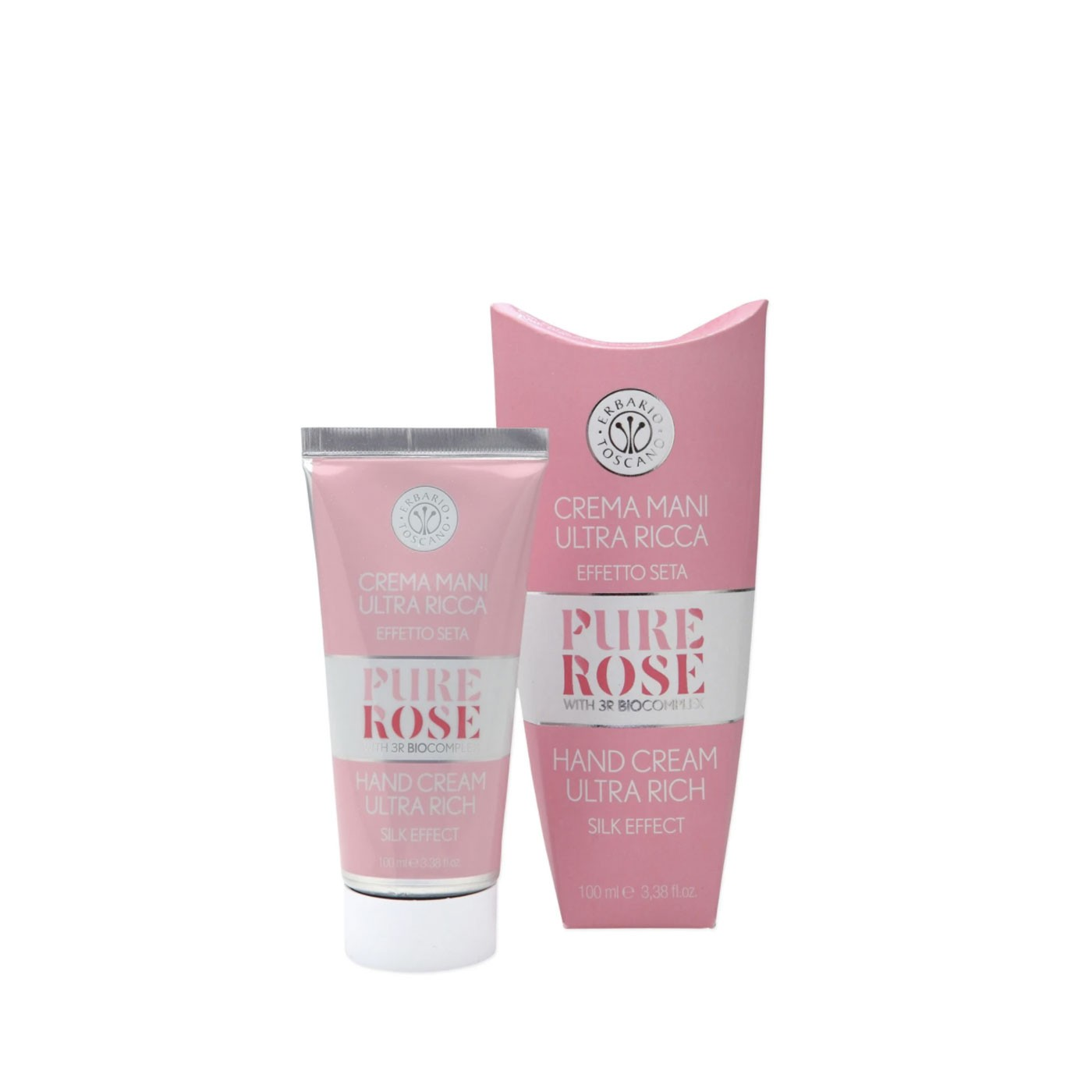 Pure Rose Hand Cream 3.4 oz