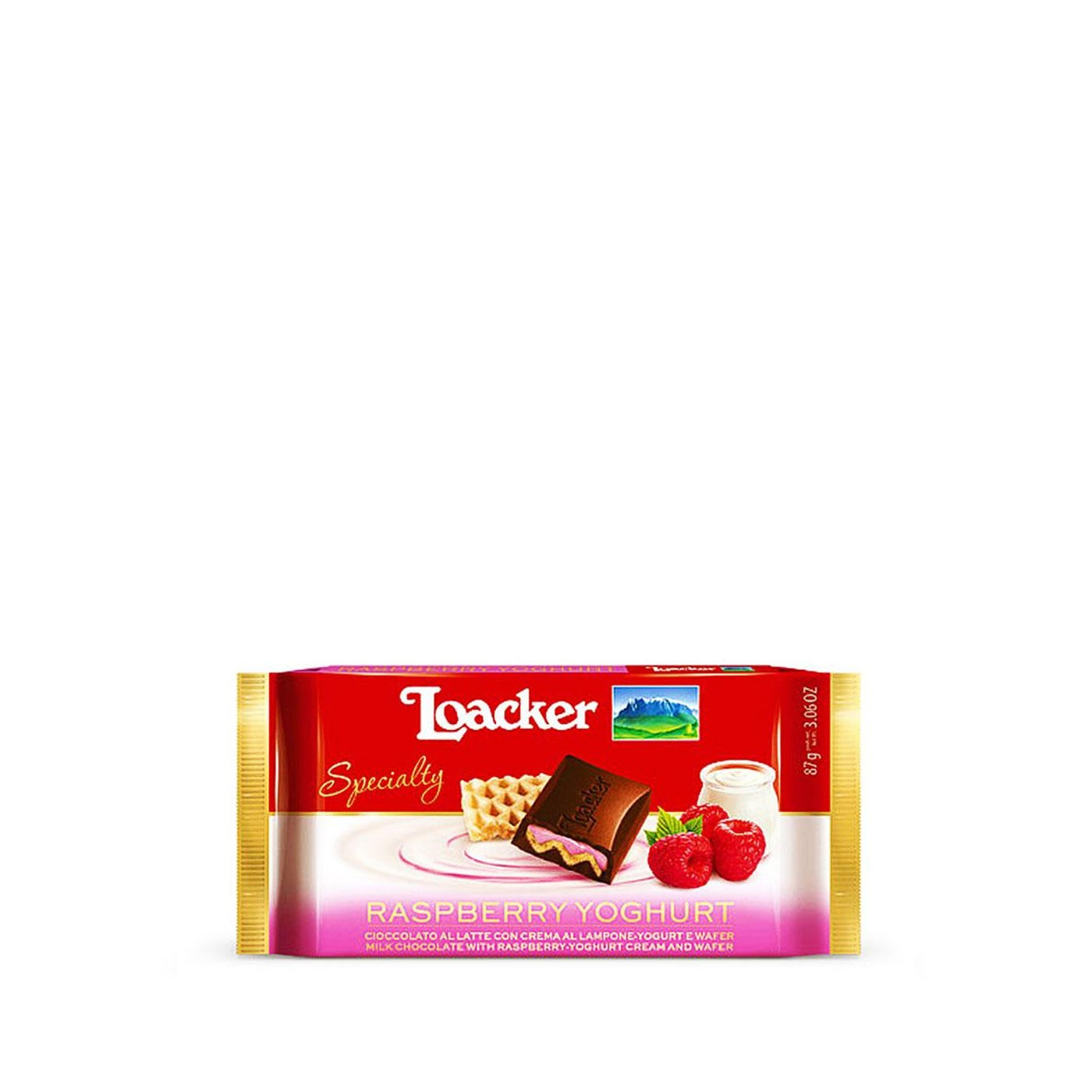 Raspberry and Yogurt Chocolate Bar 1.94 oz