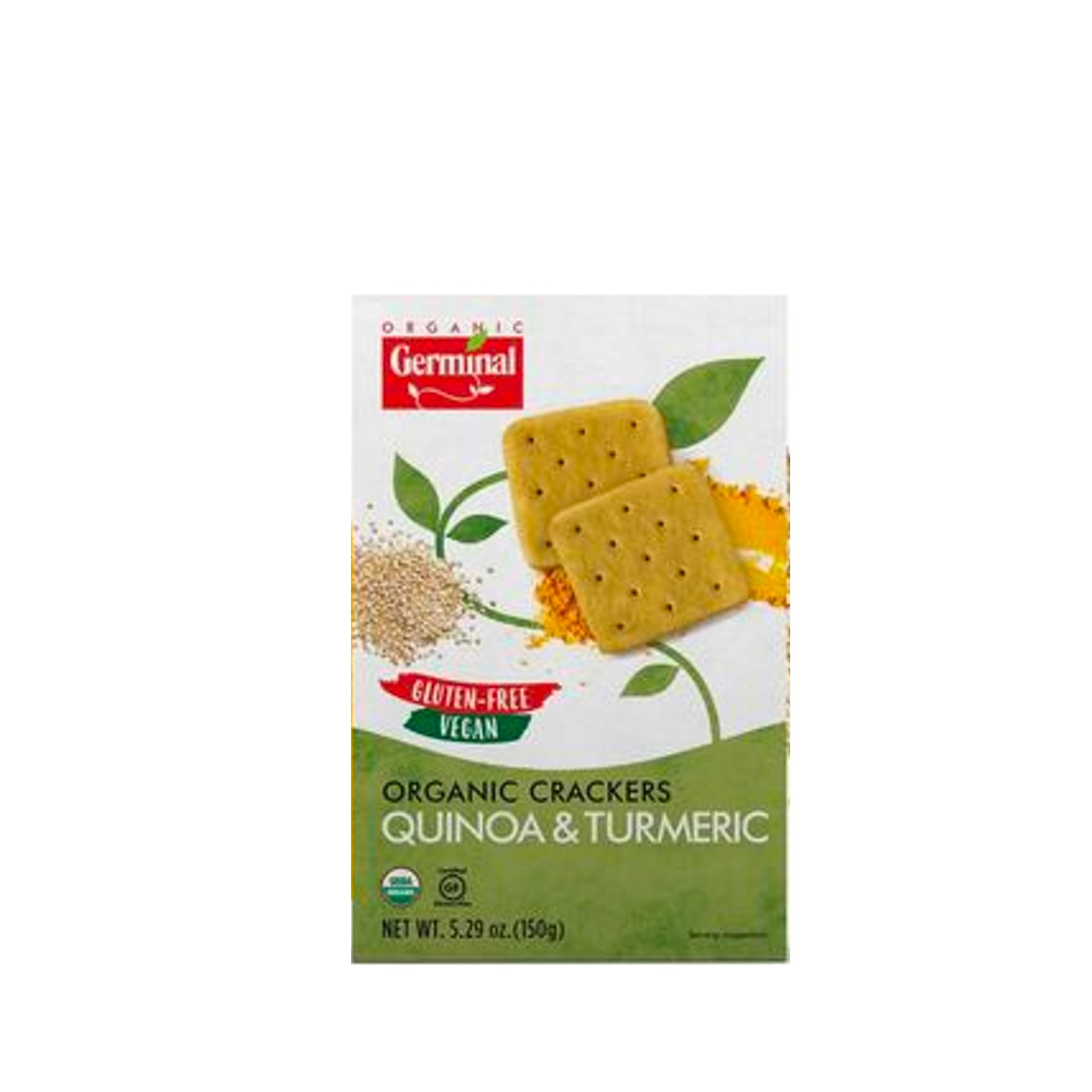 Quinoa and Tumeric Crackers 5 oz