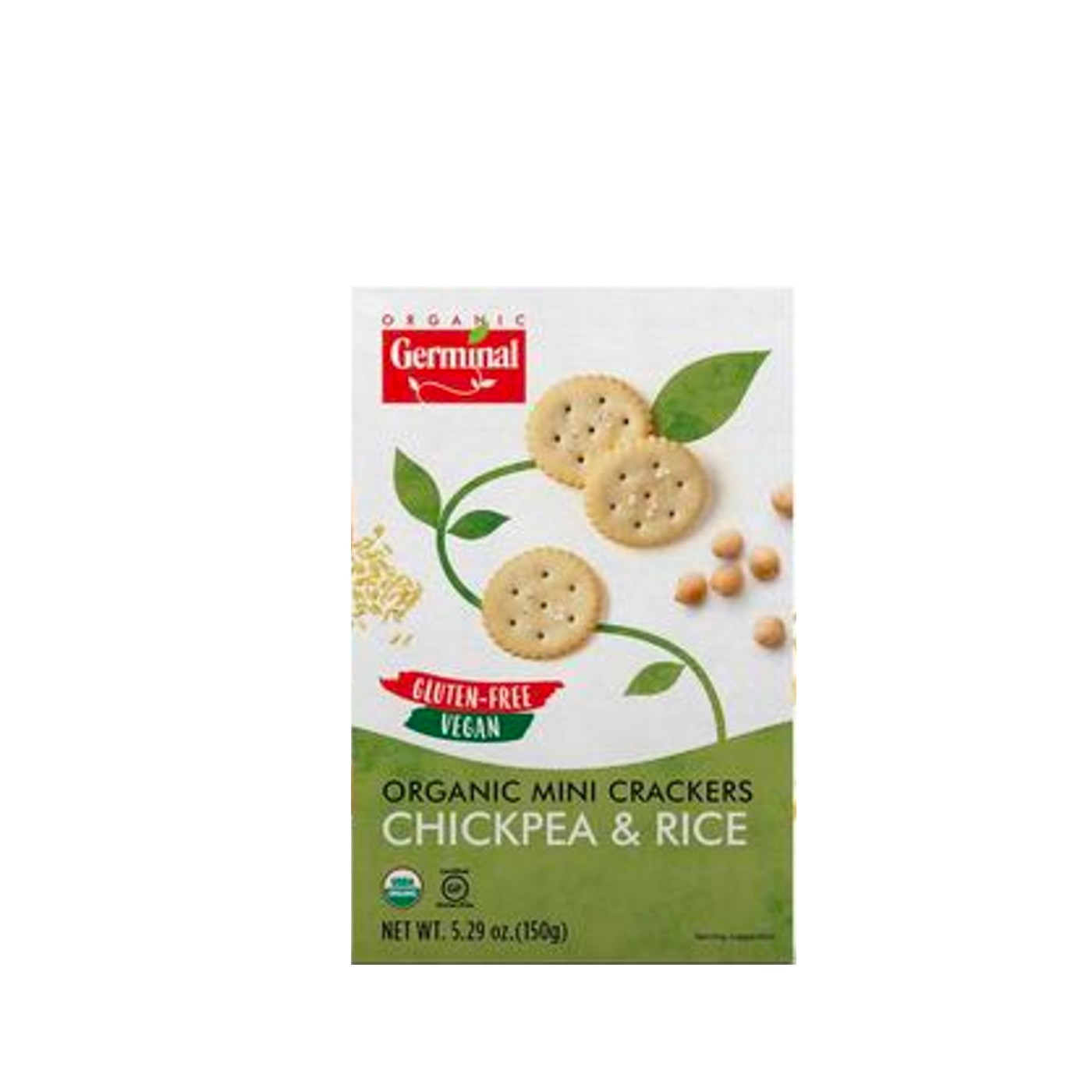 Chickpeas and Rice Crackers 5 oz