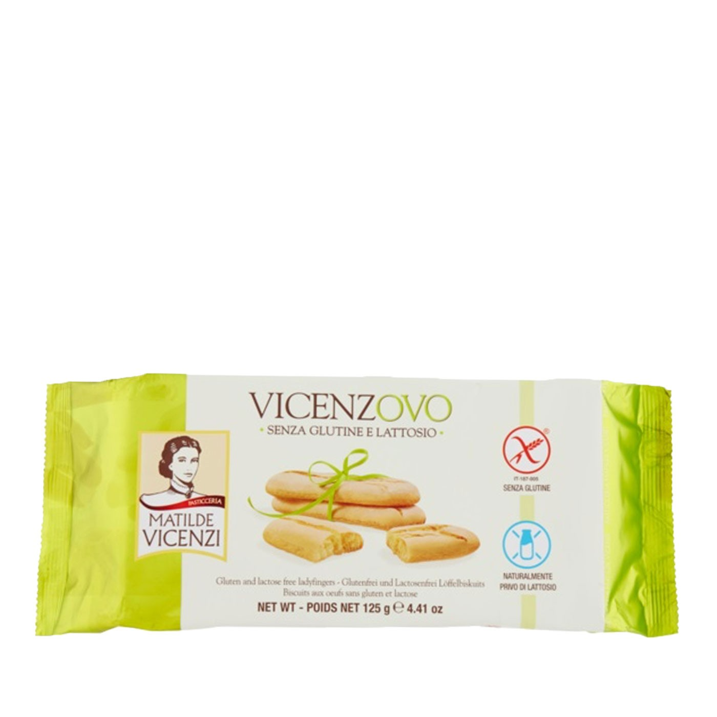 Vicenzovo Gluten-Free Ladyfingers 4.41 oz