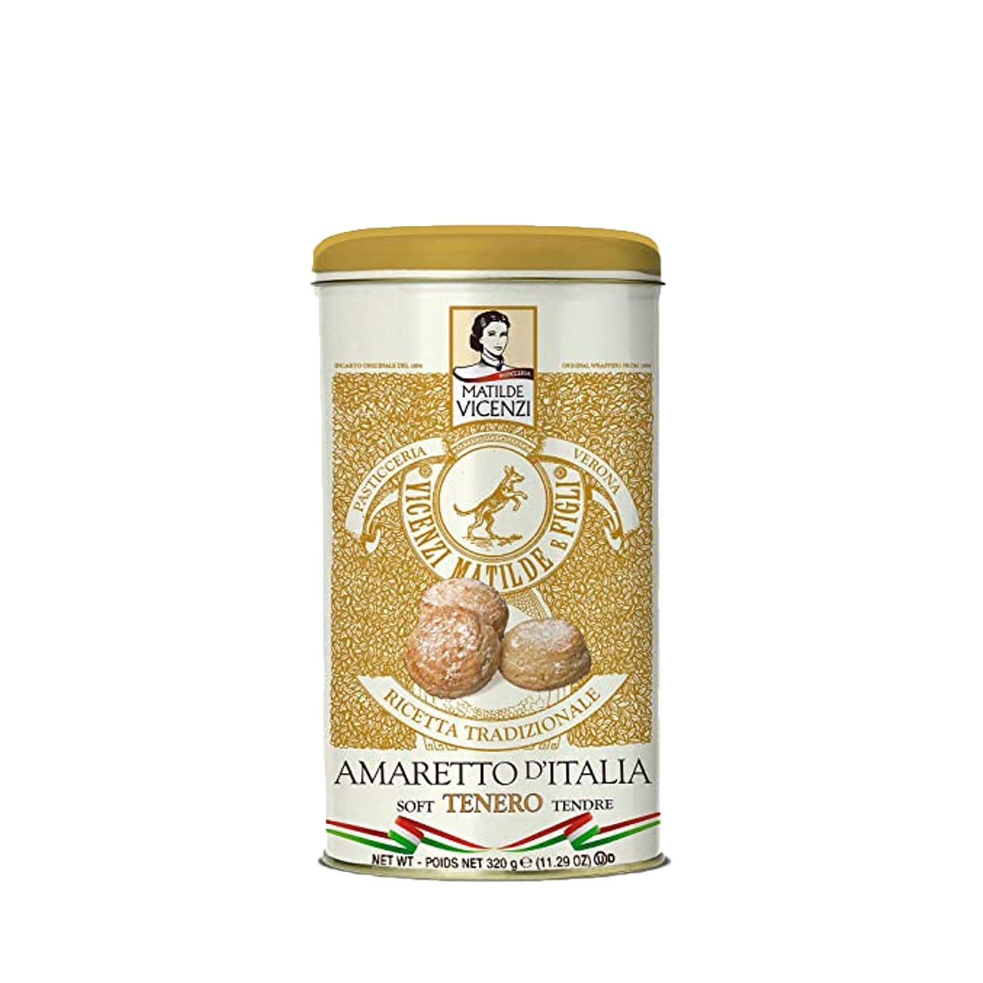 Soft Amaretti Cookies in Tin 11.29 oz