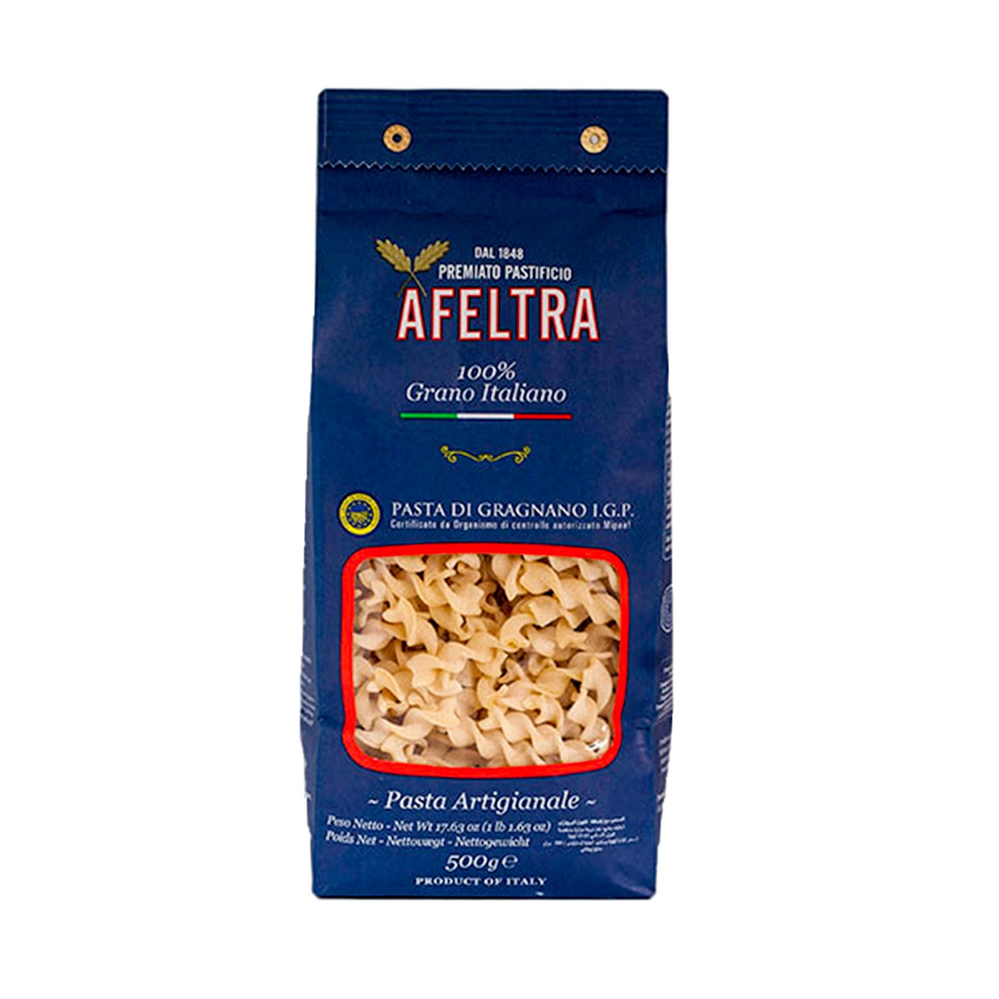 100% Italian Grain Eliche 17.6 oz - Afeltra