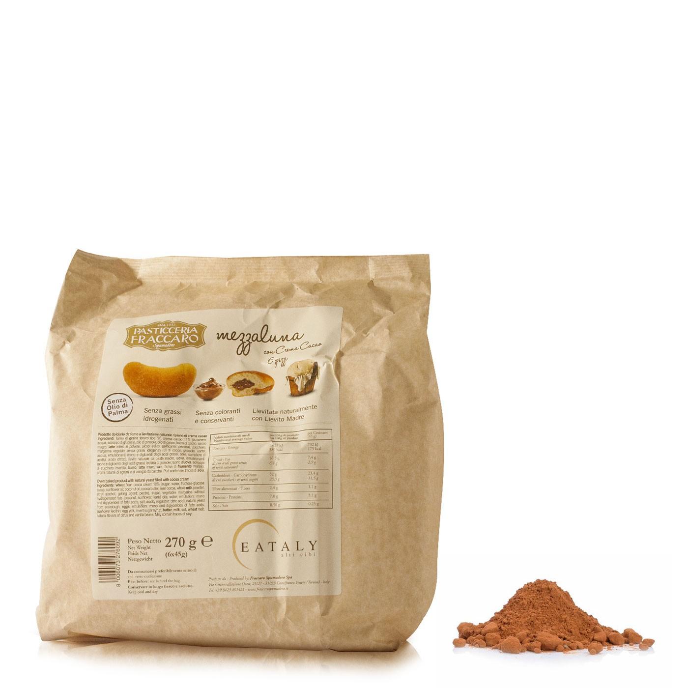 Chocolate Mezzaluna Breakfast Pastries 9.54 oz