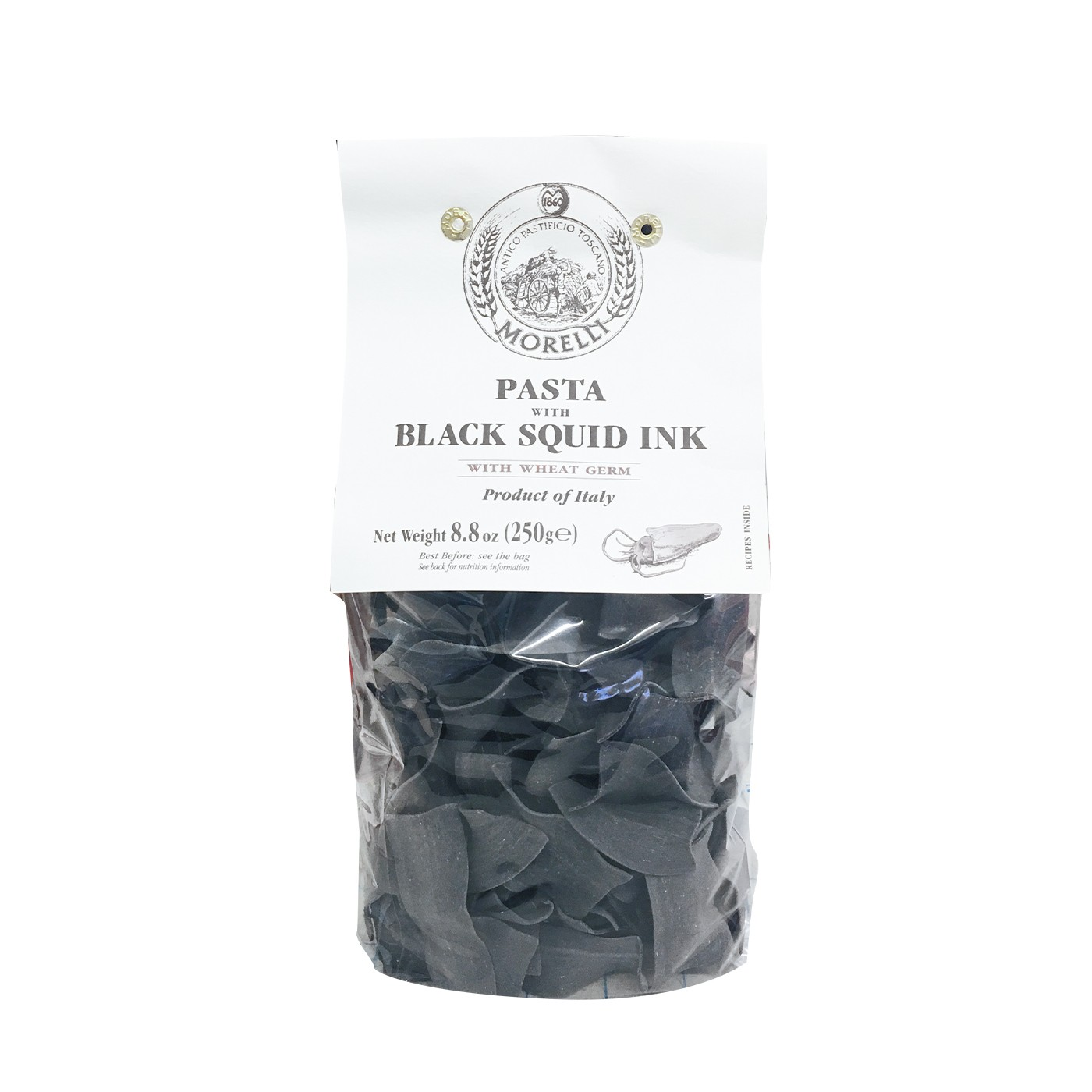 Straccetti Pasta with Black Squid Ink 8.8oz
