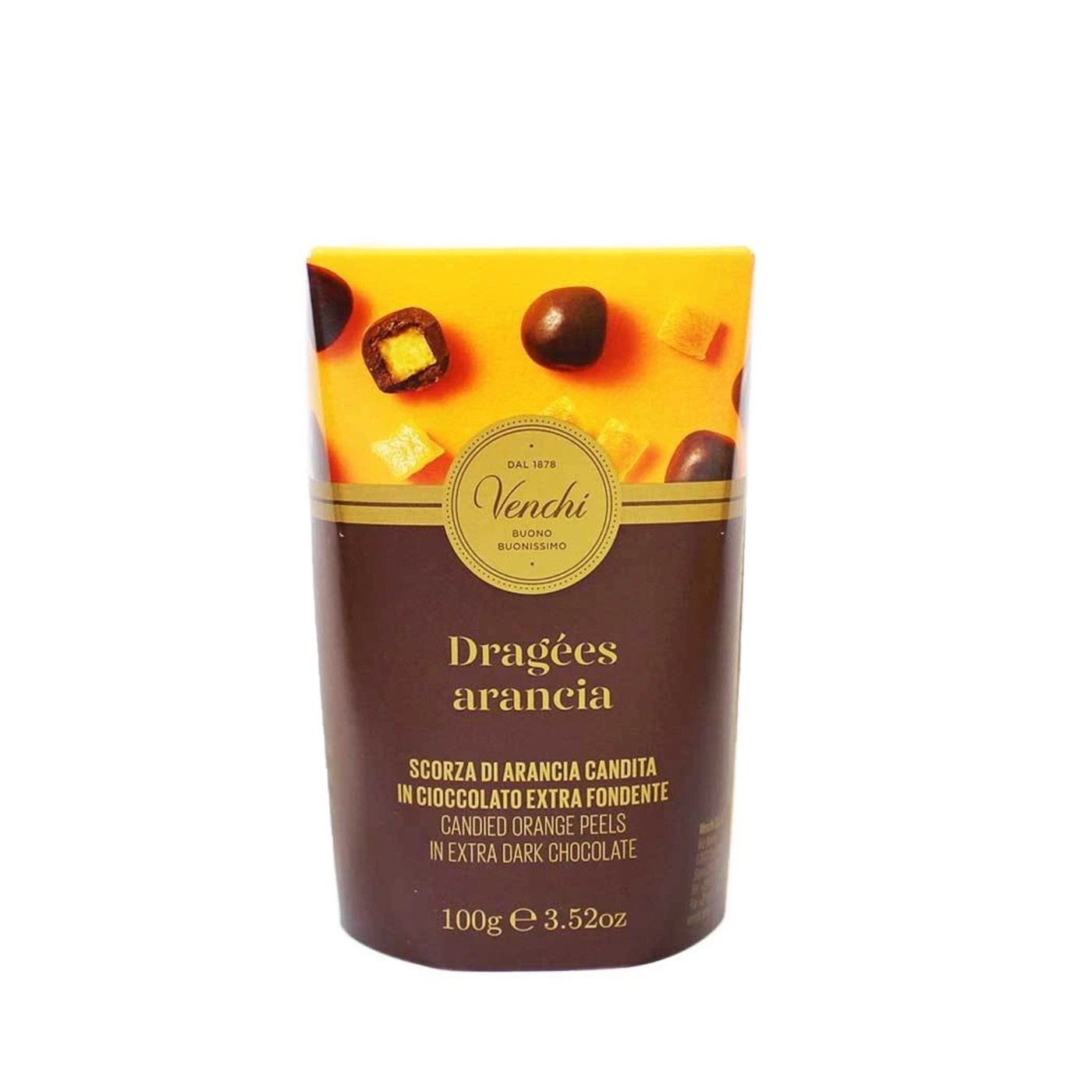 Dark Chocolate Candied Orange Peels 3.52oz