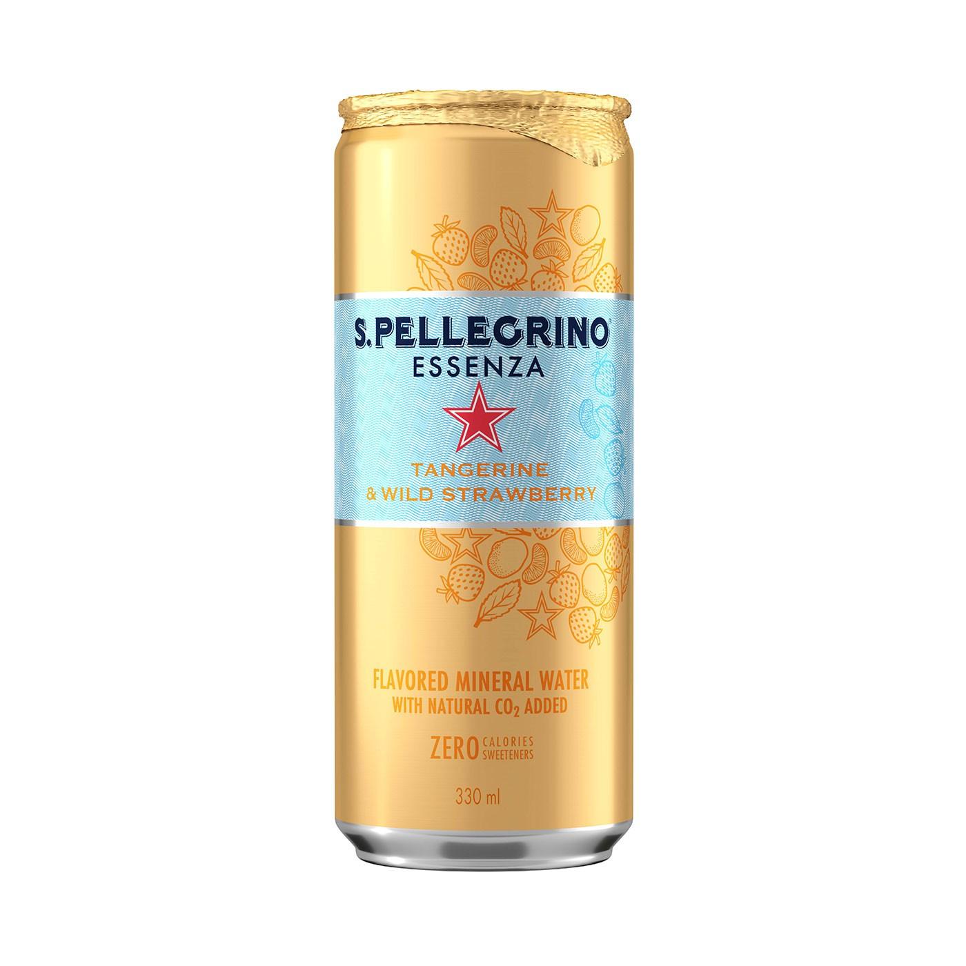 Essenza Tangerine & Strawberry Sparkling Water 11.1 oz