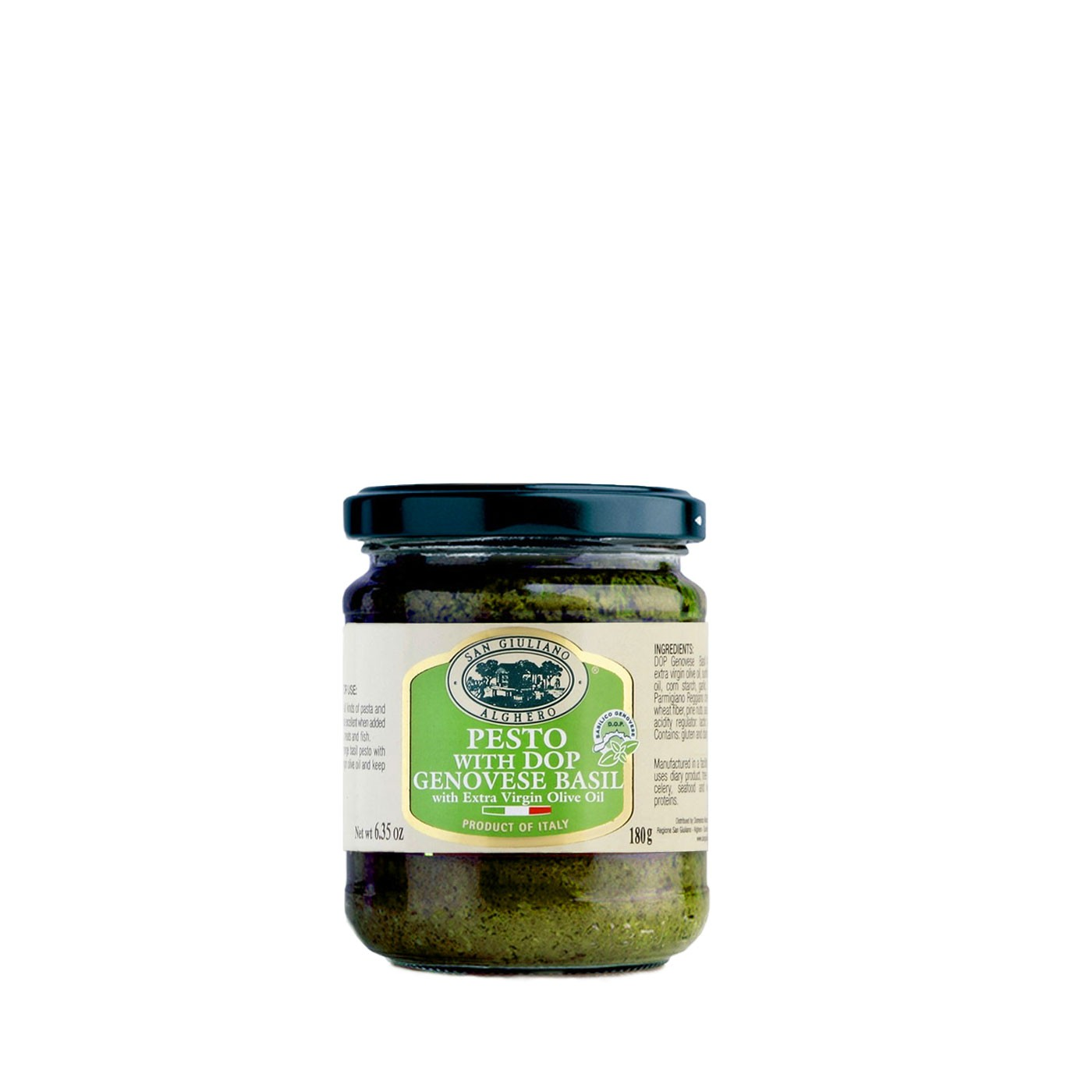 Pesto with DOP Genovese Basil 6.3 oz - San Giuliano | Eataly.com