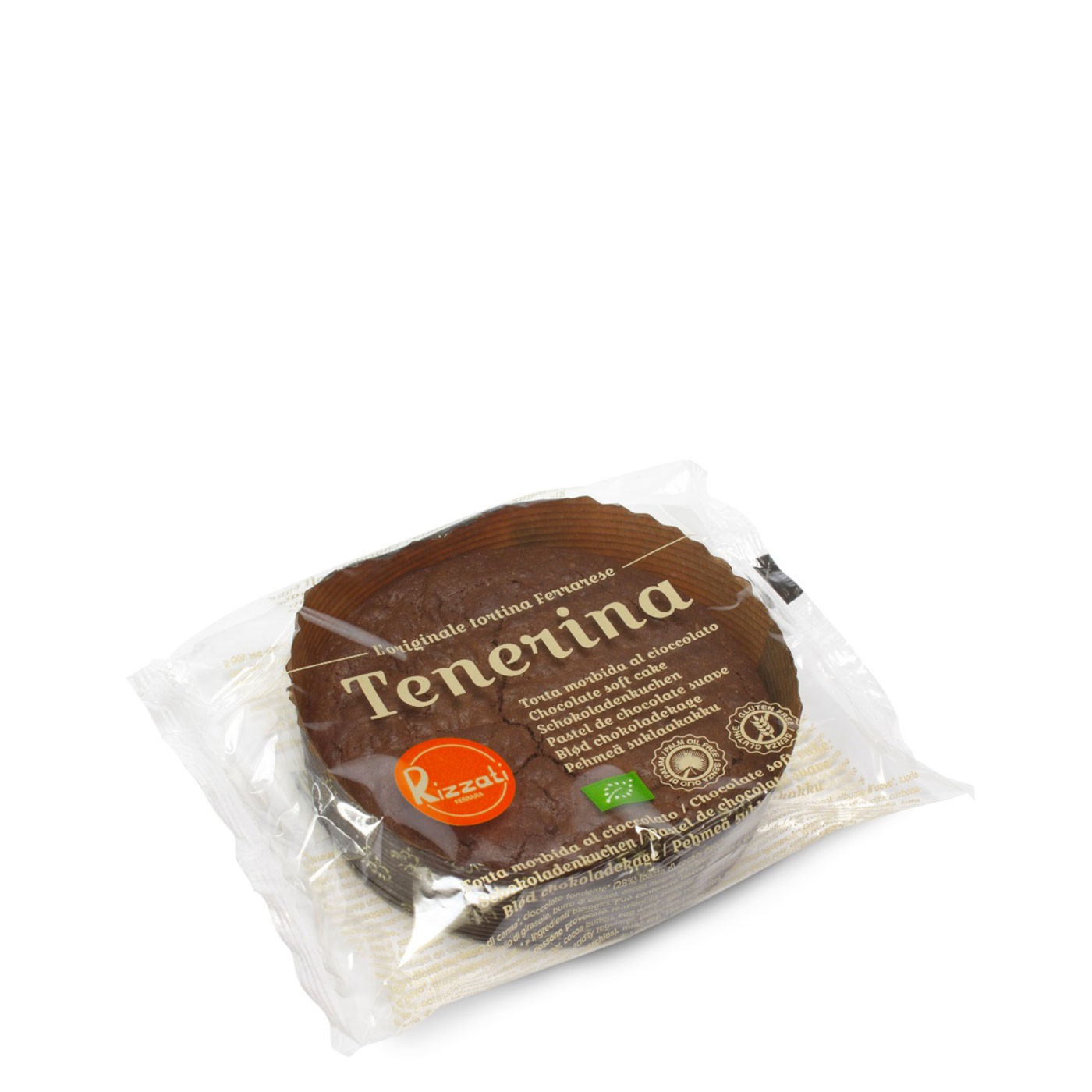 Organic Gluten Free Chocolate Tenerina Cake 1.76 oz - Rizzati | Eataly.com