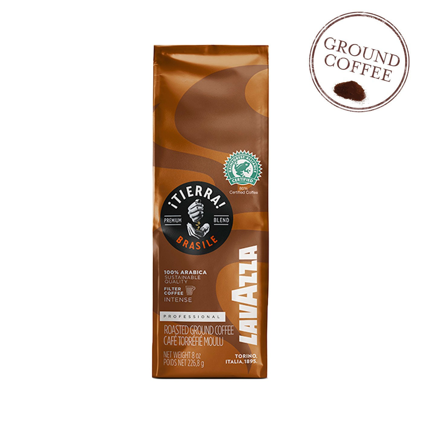 ¡Tierra! Brazil Ground Coffee 8.8 oz