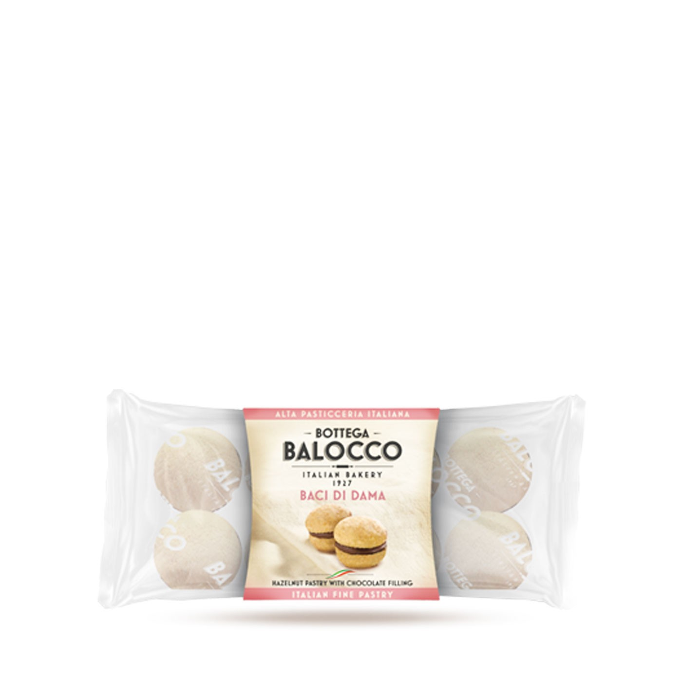 Baci di Dama Cookies 2.82 oz - Bottega del Balocco