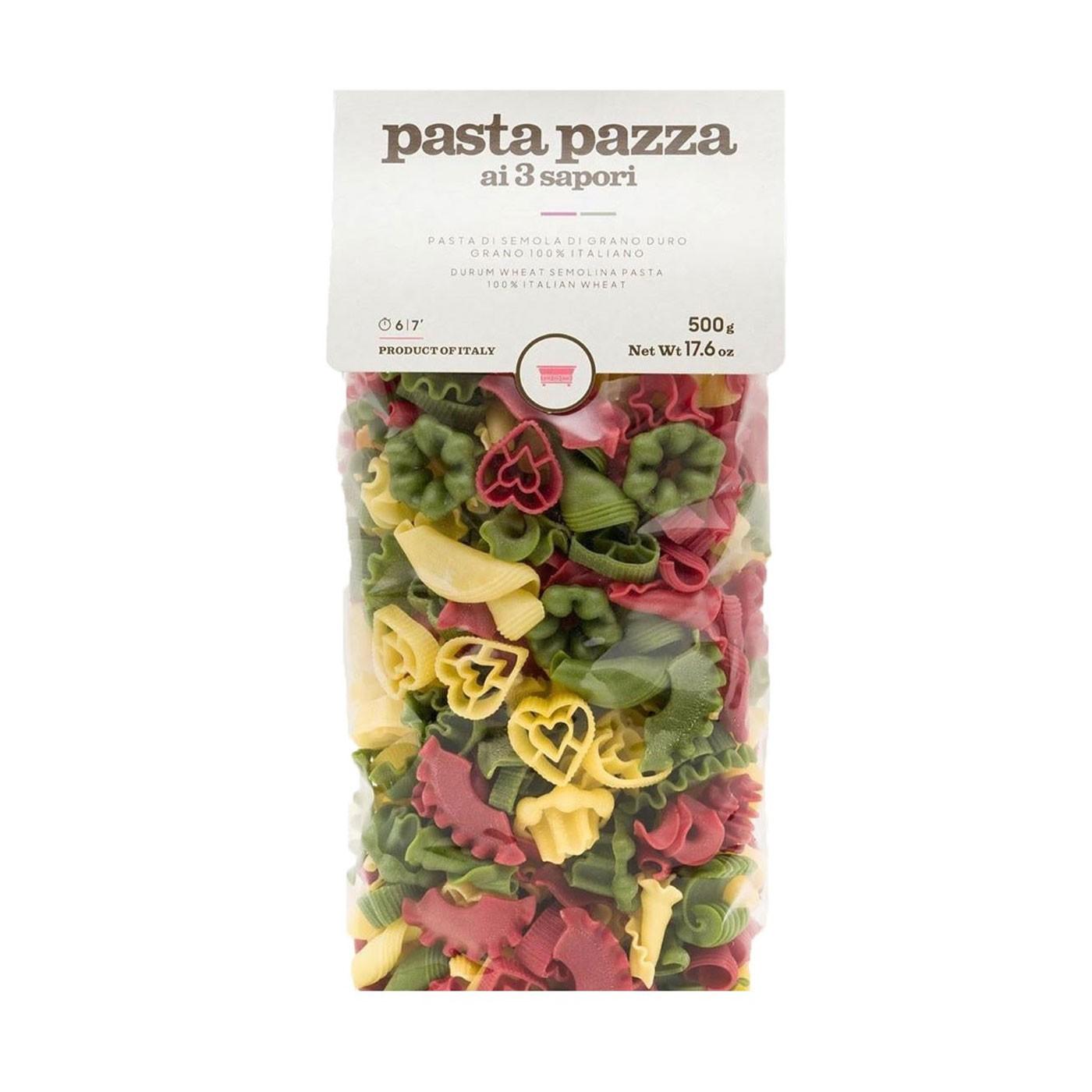 Tricolor Pasta Pazza 17.6 oz - Antica Madia