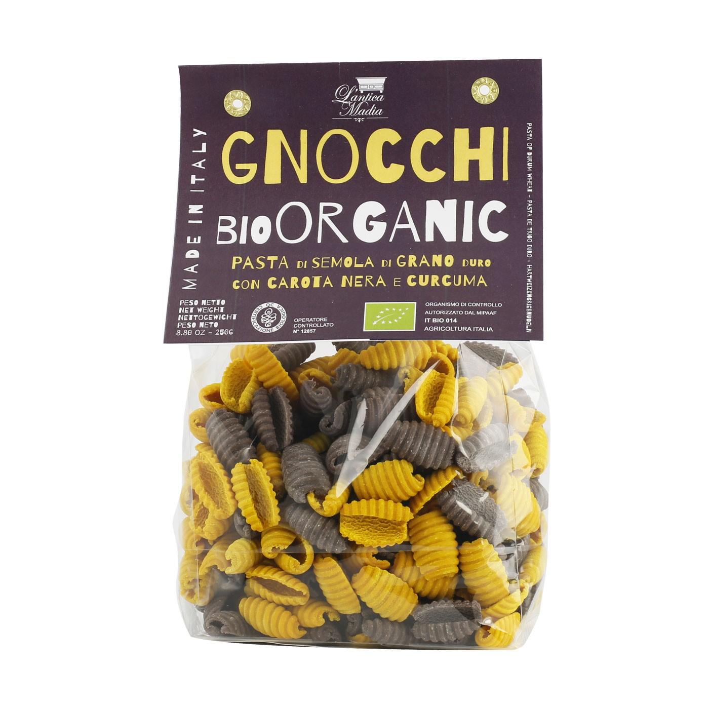 Organic Turmeric and Purple Carrots Gnocchi 8.8 oz