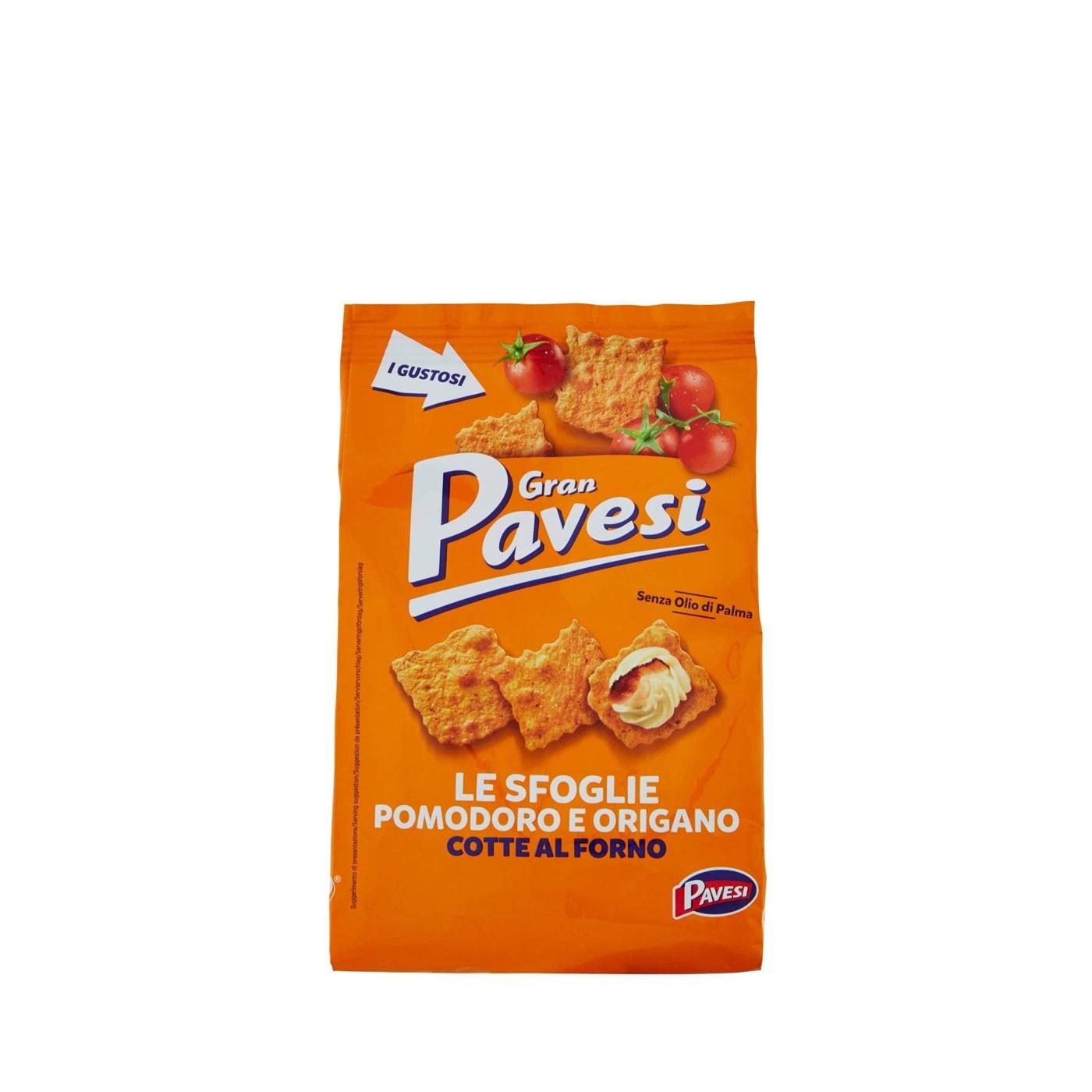 Gran Pavesi Le Sfoglie Tomato and Oregano Crackers 5.6 oz