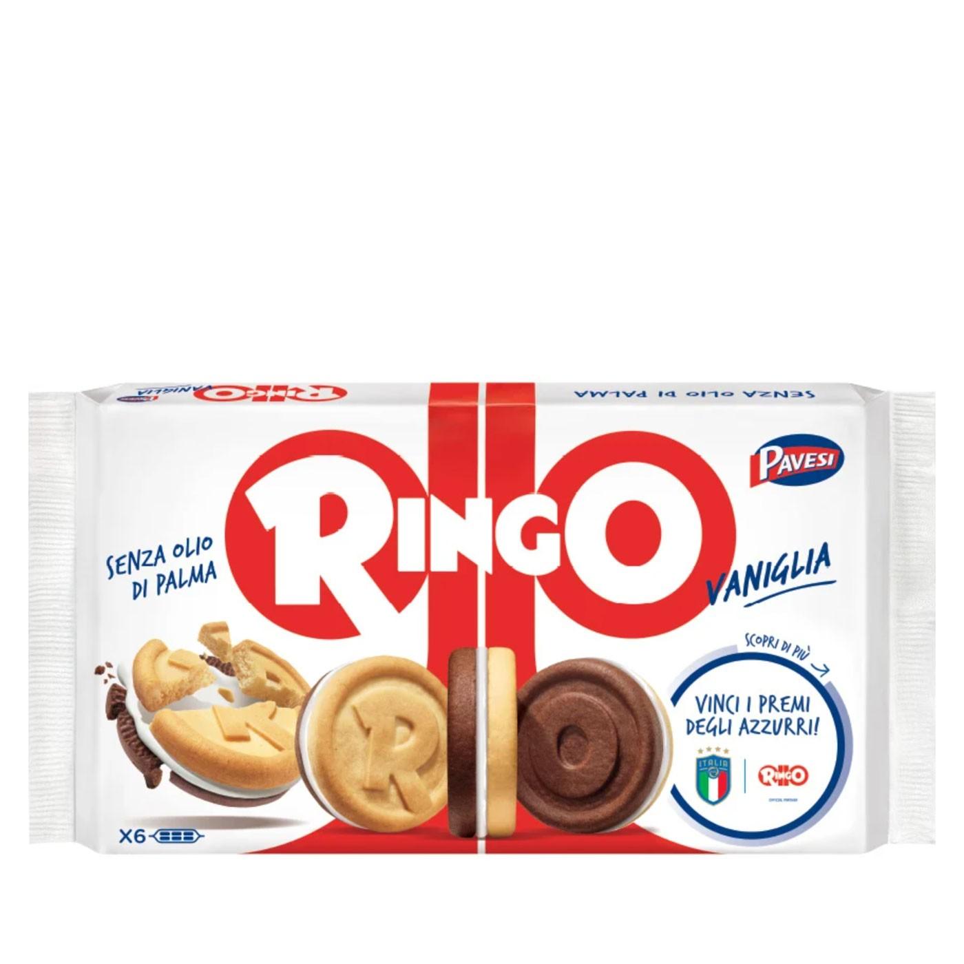 Ringo Vanilla Cookies 11.6 oz