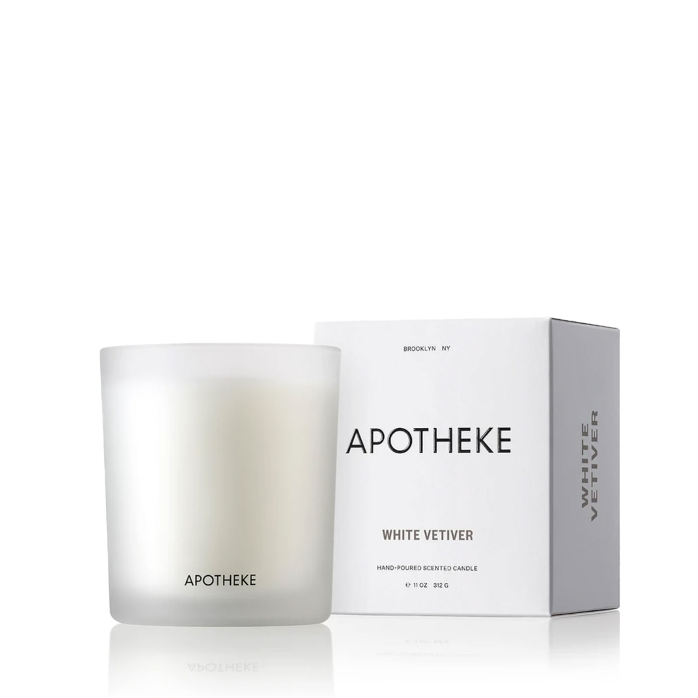 White Vetiver Scented Candle 11 oz
