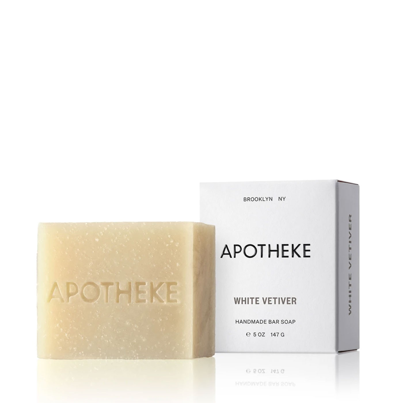 White Vetiver Scented Soap Bar 5 oz