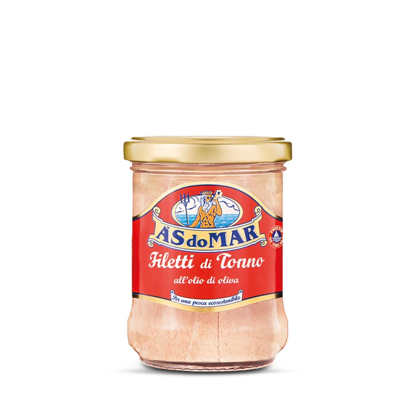 Tuna Fillets in Olive Oil - Jar 7.05 oz