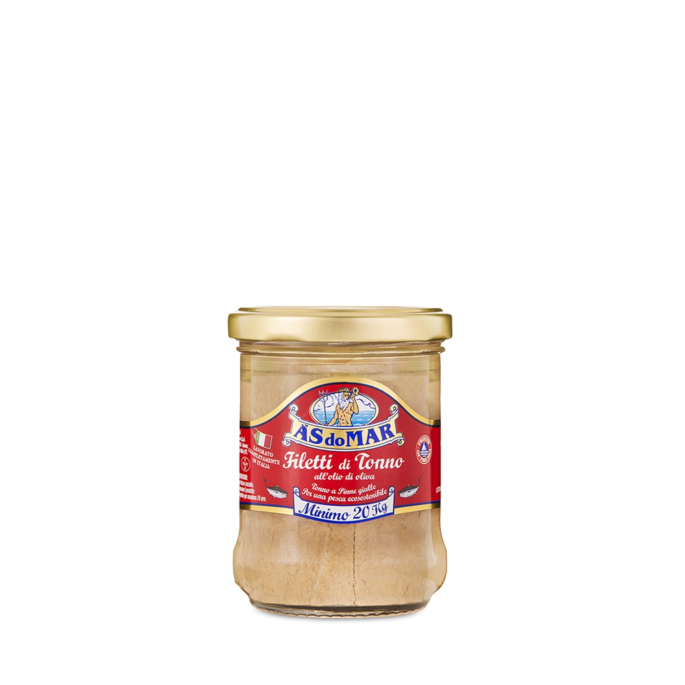 Tuna Fillets in Olive Oil - Jar 7.05 oz