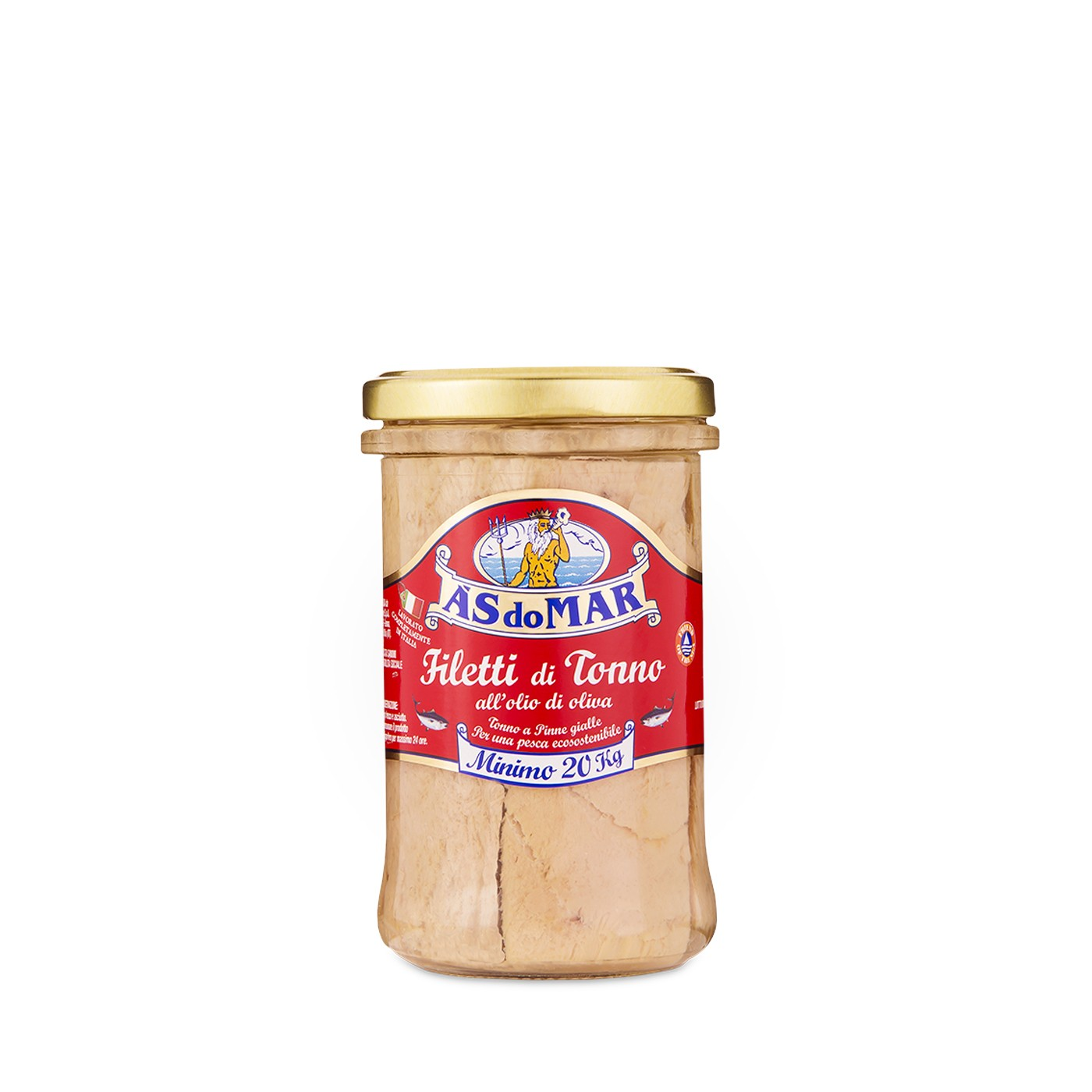 Tuna Fillets in Olive Oil - Jar 8.81 oz