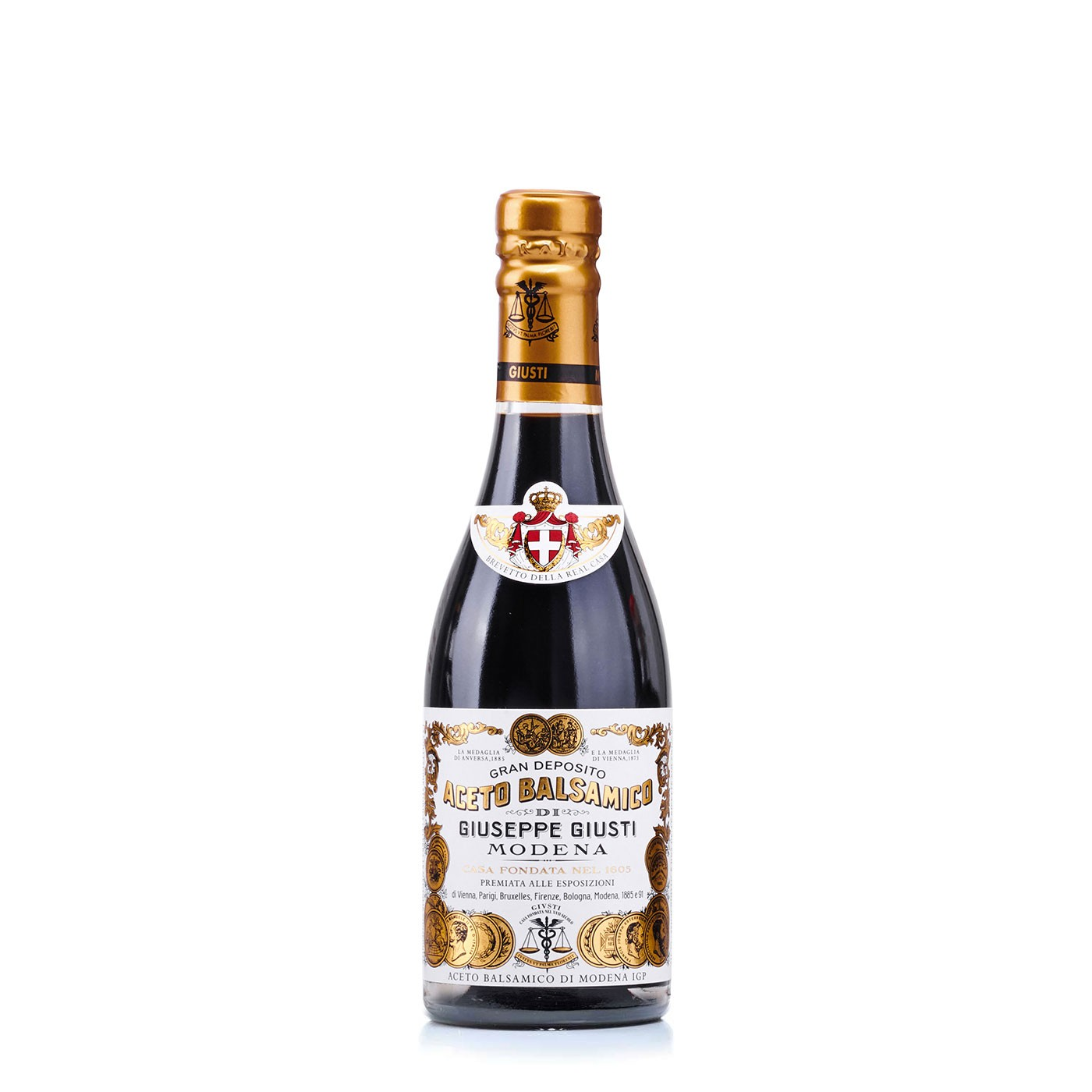 Two Gold Medals 'Il Classico' Balsamic Vinegar IGP 3.38 oz