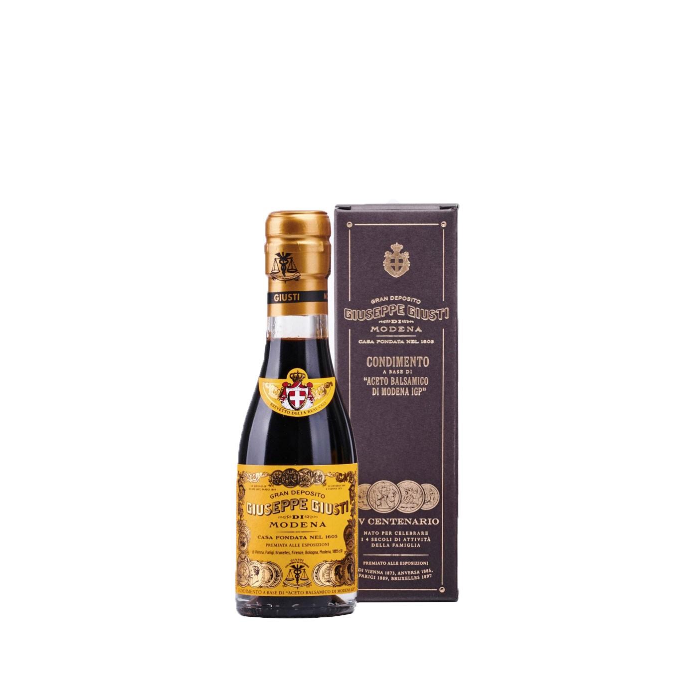 Four Gold Medals 'Quarto Centenario' Balsamic Vinegar IGP 3.38 oz