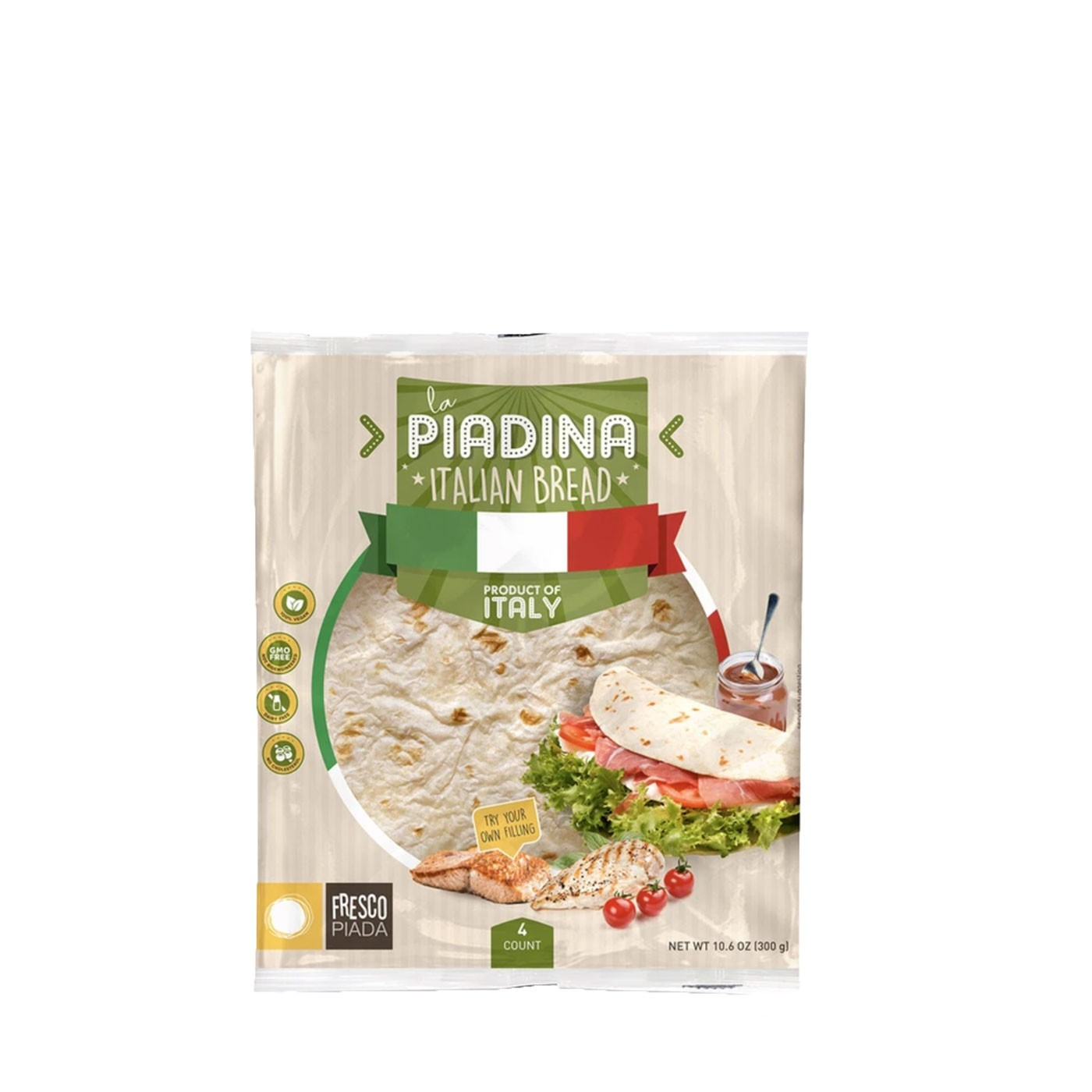 Piadina - 4 Count 10.6 oz