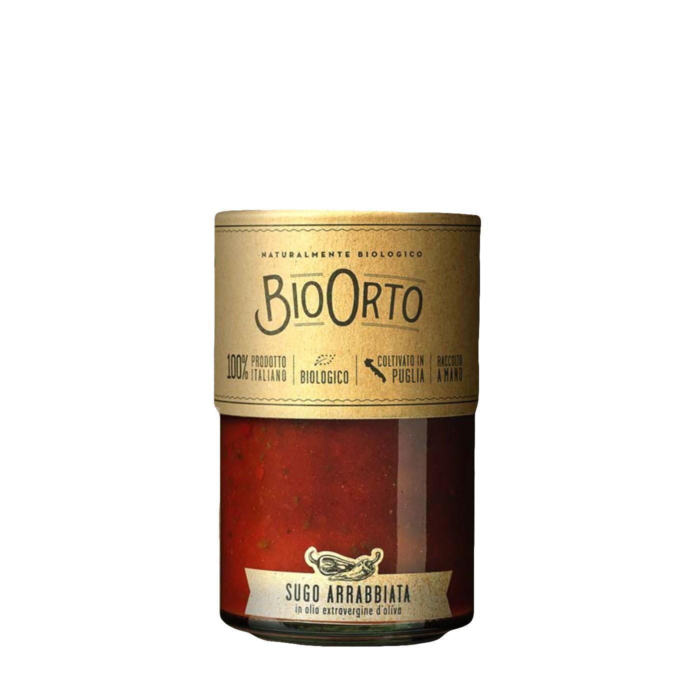 Organic Arrabbiata Sauce 19.4 oz