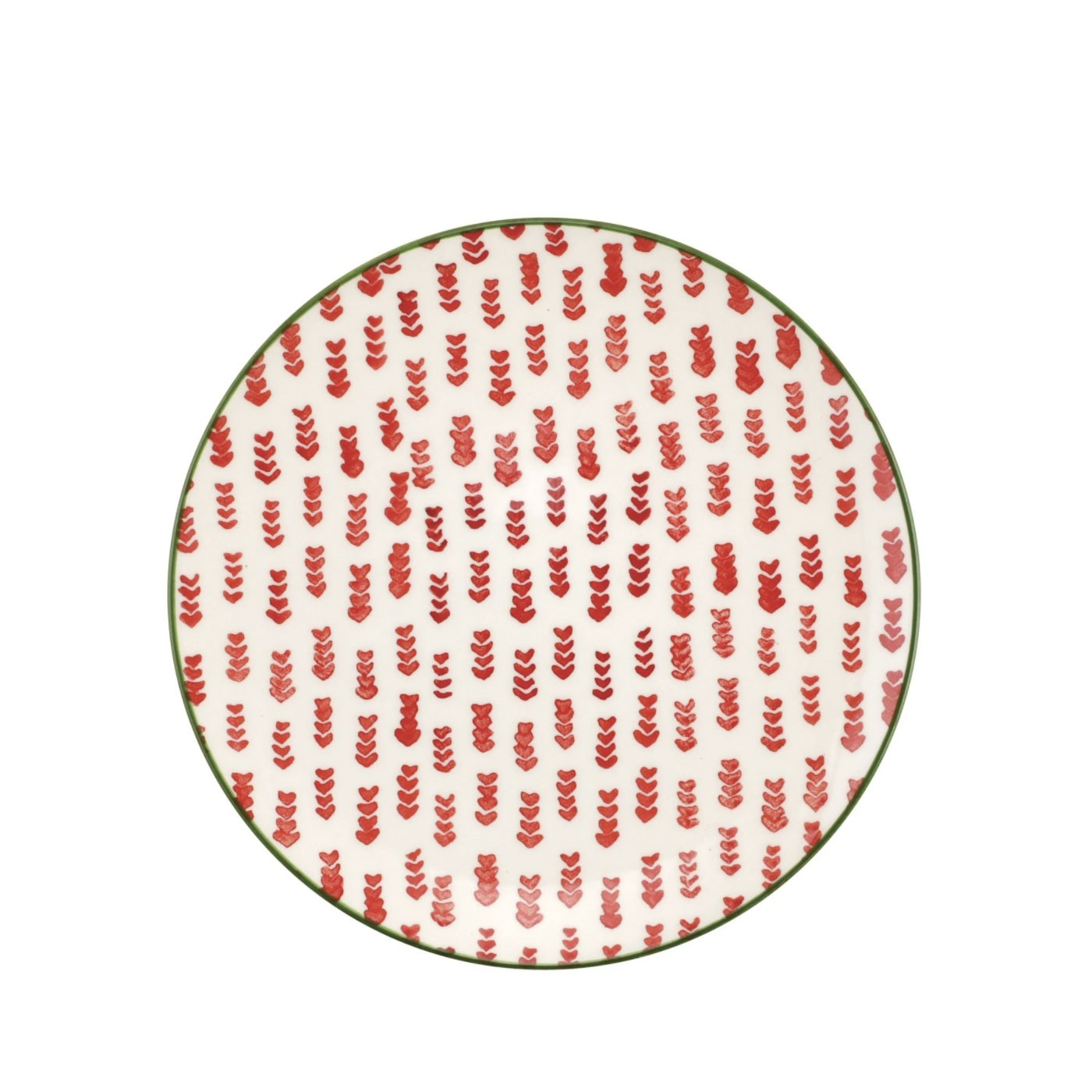 Mistletoe Arrow Salad Plate