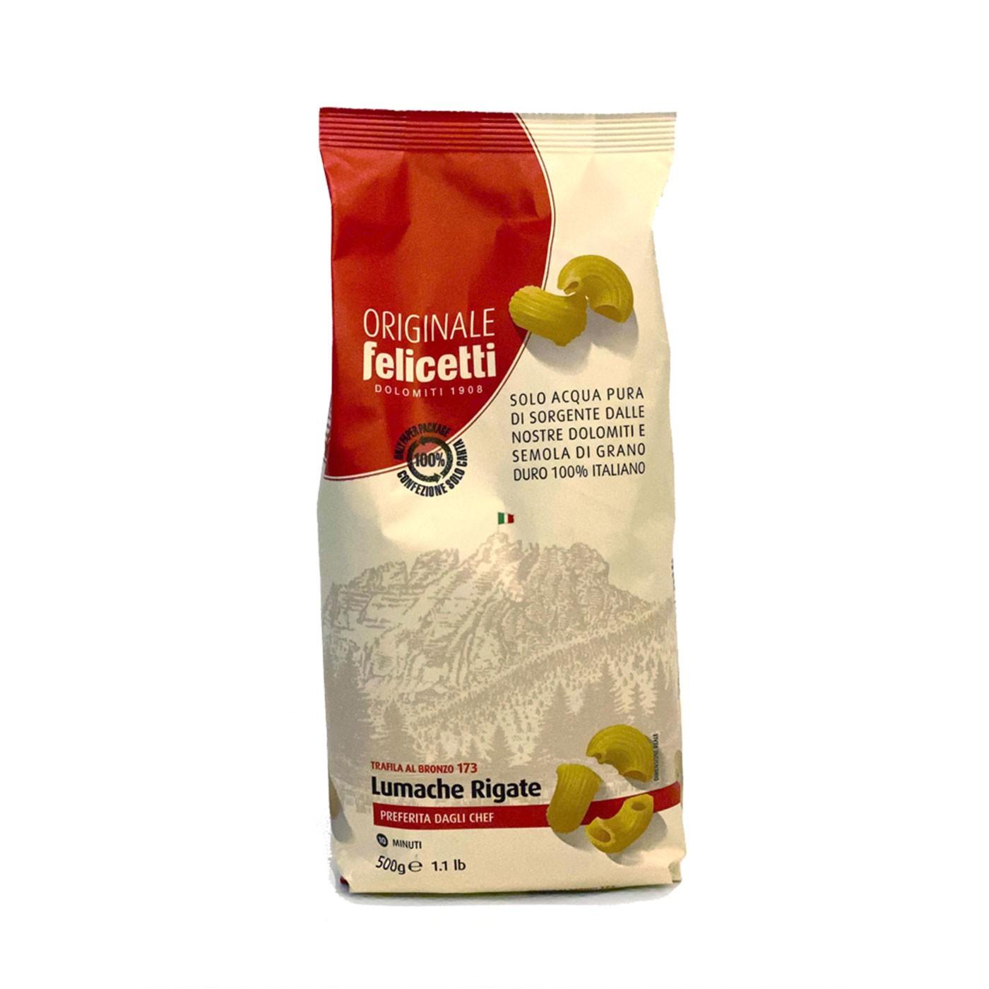 Lumache Rigate 17.6 oz - Felicetti