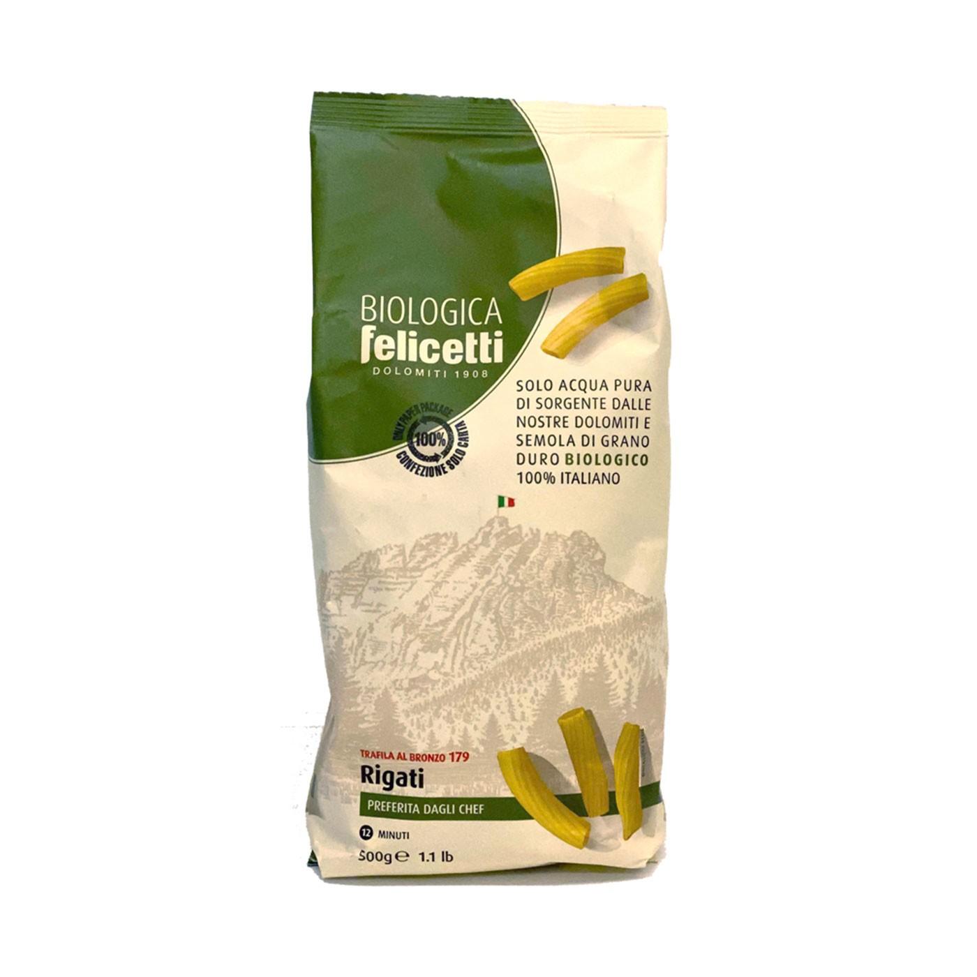 Organic Rigati 17.6 oz - Felicetti